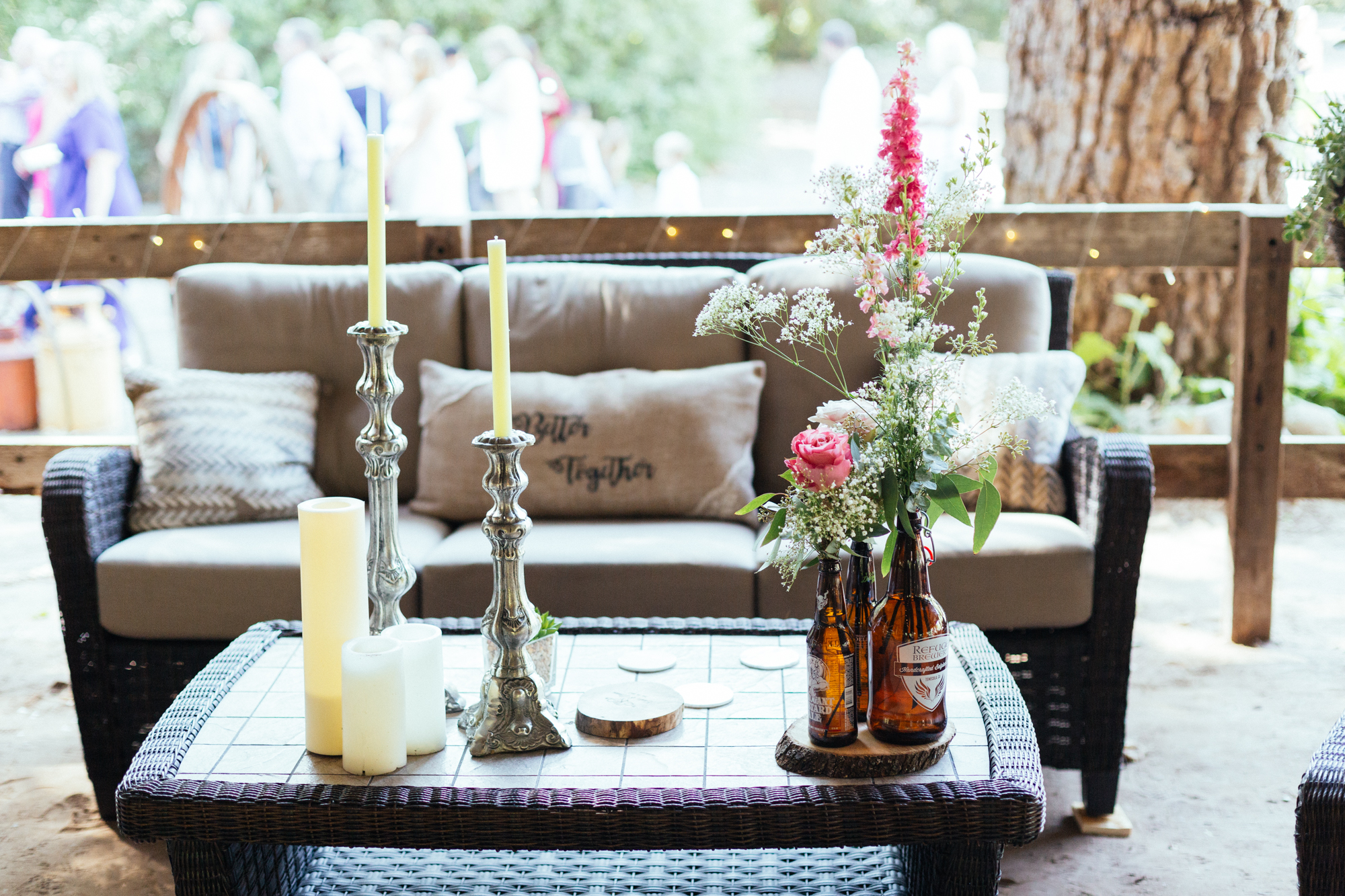 www.santabarbarawedding.com | Kaitie Brainerd Photo | Rancho Dos Pueblos | Reception Seating