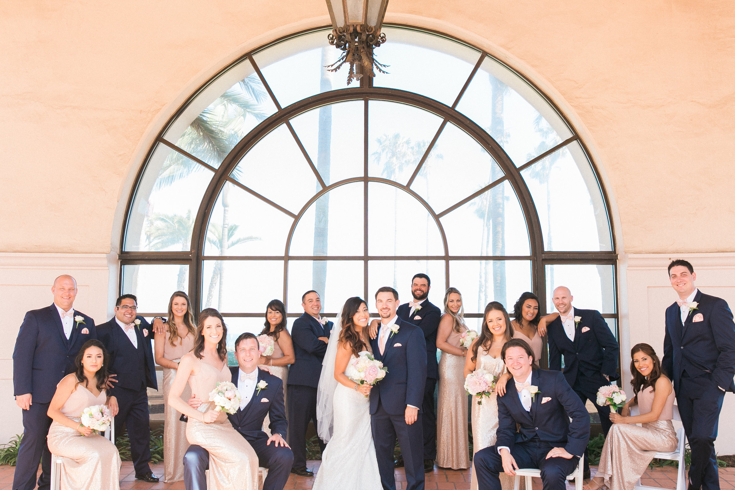 www.santabarbarawedding.com | Kelsey Crews | Fess Parker Doubletree | Bridal Party