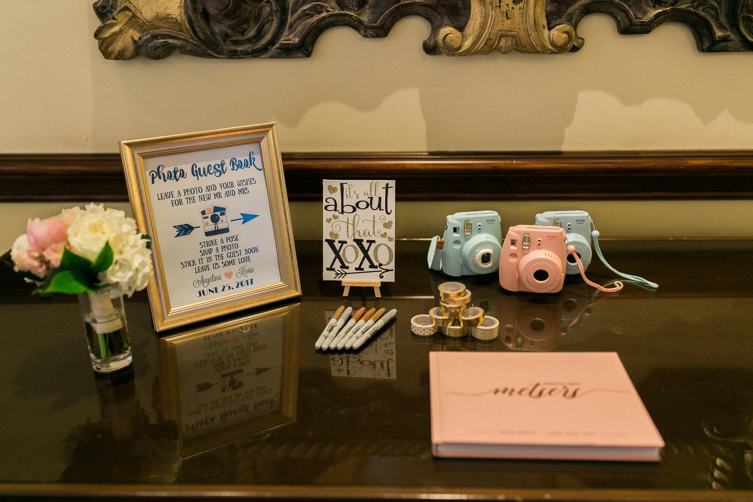 www.santabarbarawedding.com | Kelsey Crews | Fess Parker Doubletree | Photobooth Details