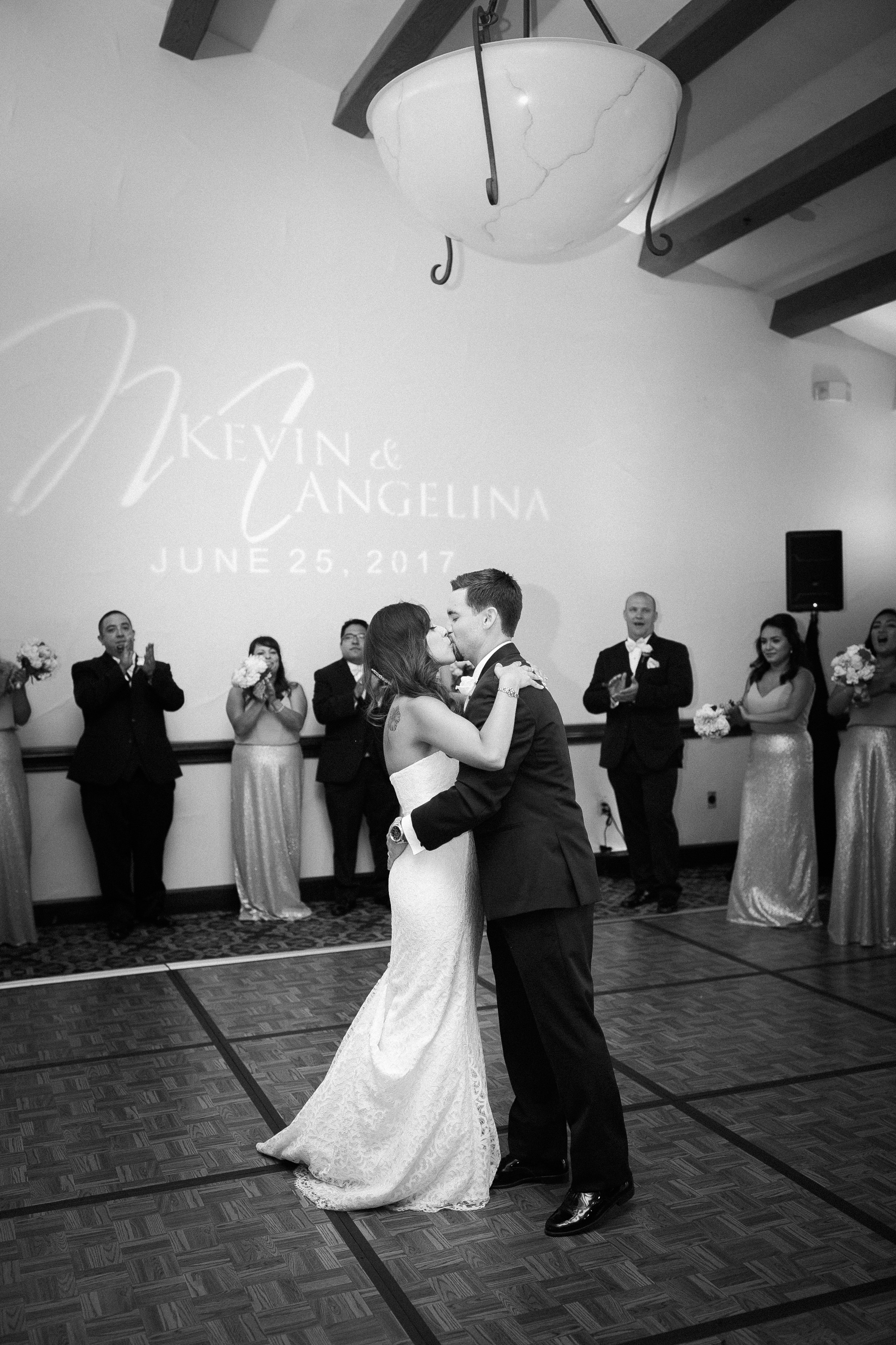 www.santabarbarawedding.com | Kelsey Crews | Fess Parker Doubletree | Bride and Groom | First Dance