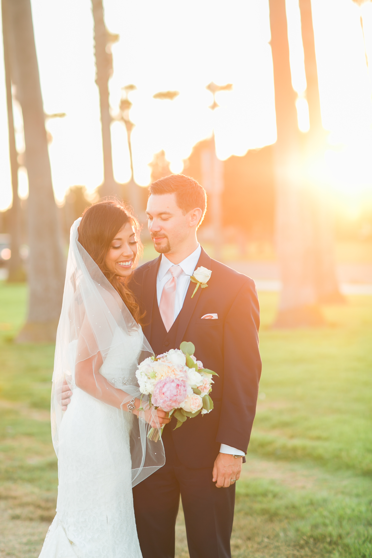 www.santabarbarawedding.com | Kelsey Crews | Fess Parker Doubletree | Bride and Groom