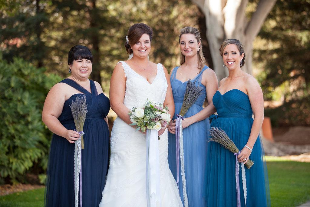 www.santabarbarawedding.com | Felici Events | Melissa Musgrove | El Paseo | Birdesmaids