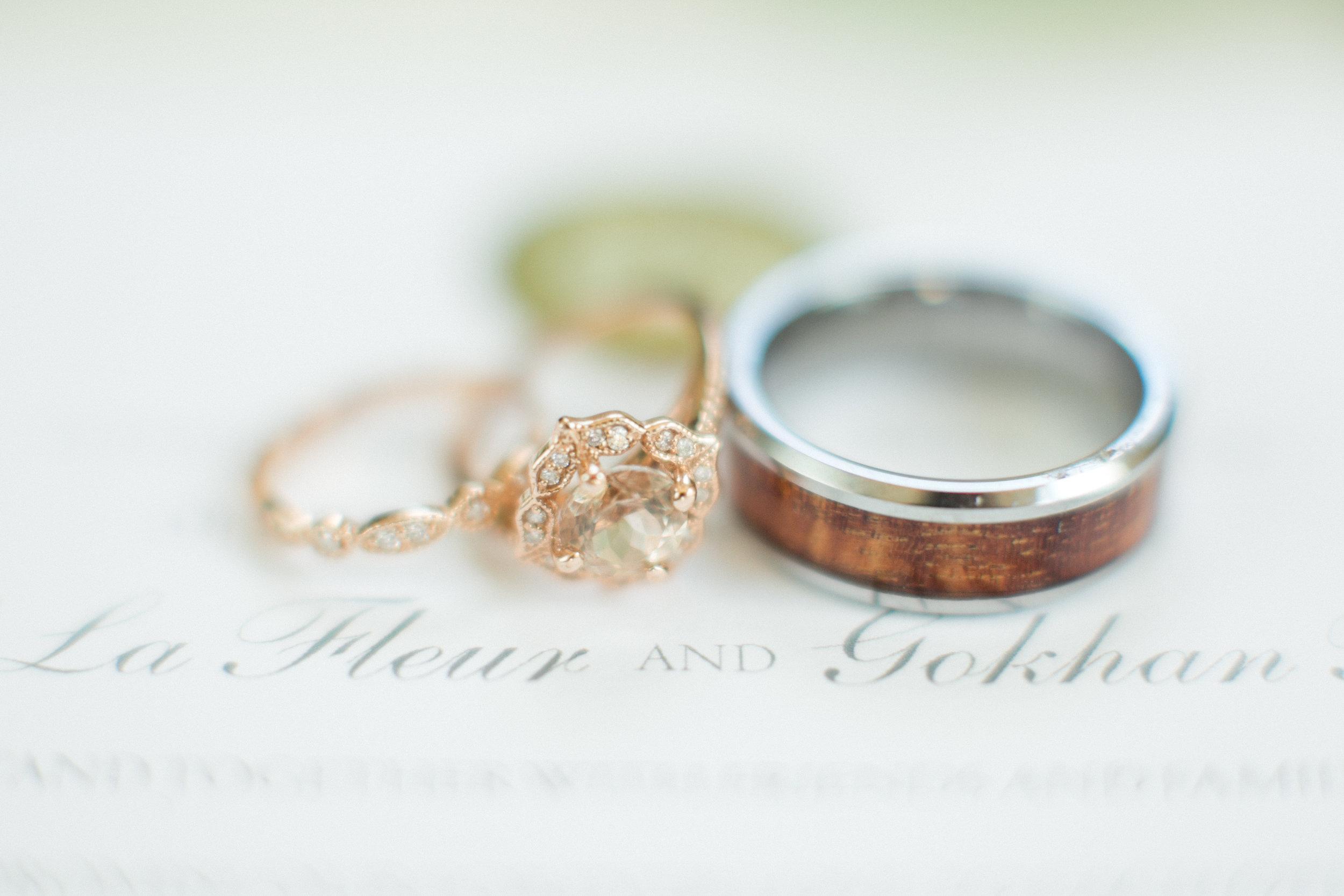 www.santabarbarawedding.com | Atelier de La Fleur Weddings & Events | Mike Larson | Wedding Rings