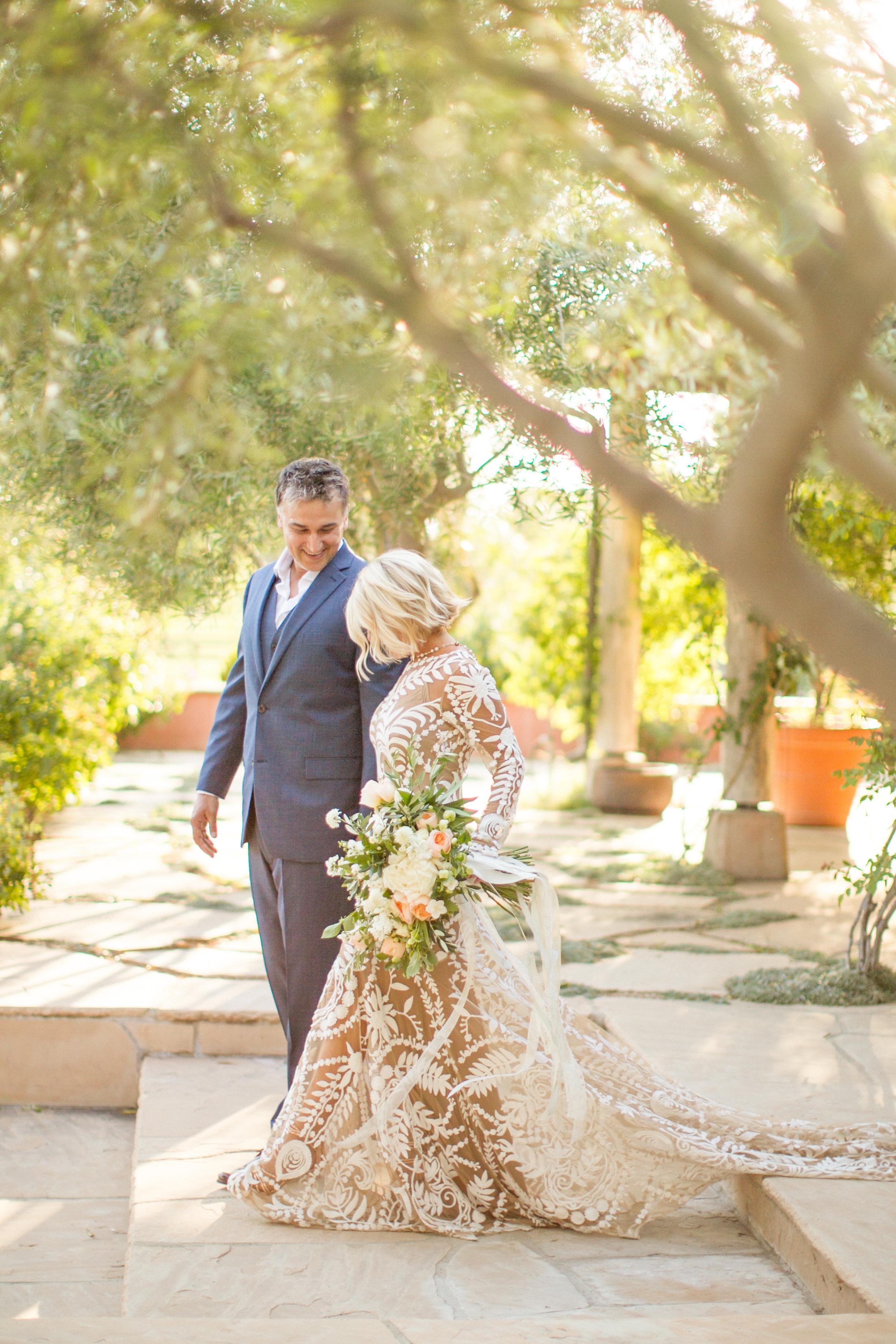 www.santabarbarawedding.com | Atelier de La Fleur Weddings & Events | Mike Larson | Bride and Groom