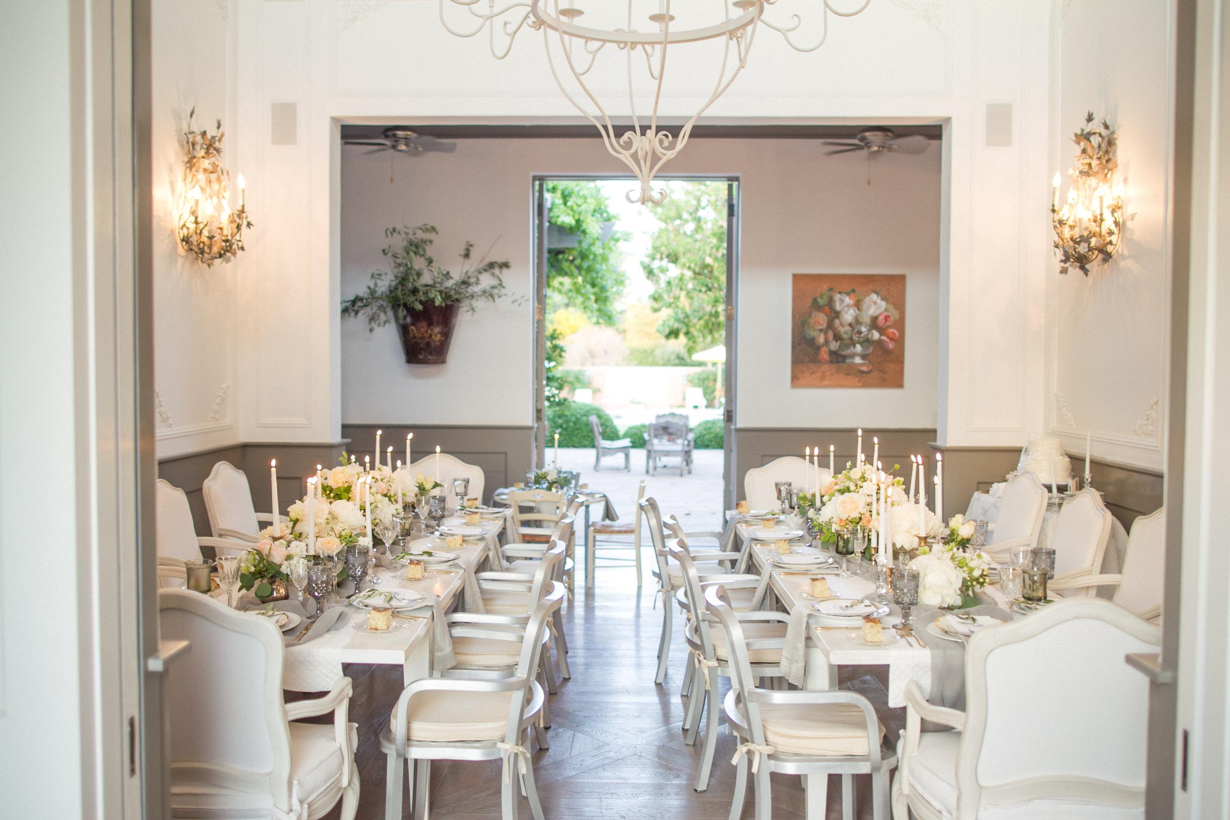 www.santabarbarawedding.com | Atelier de La Fleur Weddings & Events | Mike Larson | Reception