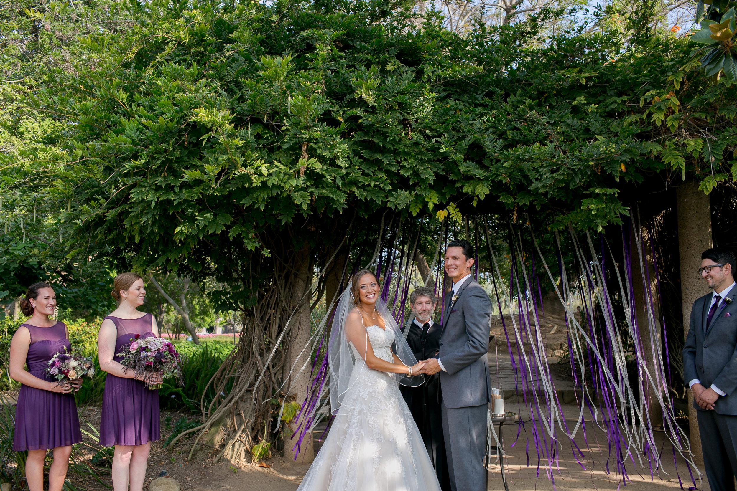 www.santabarbarawedding.com | Kelsey Crews | Felici Events | Alice Keck Park | Ceremony