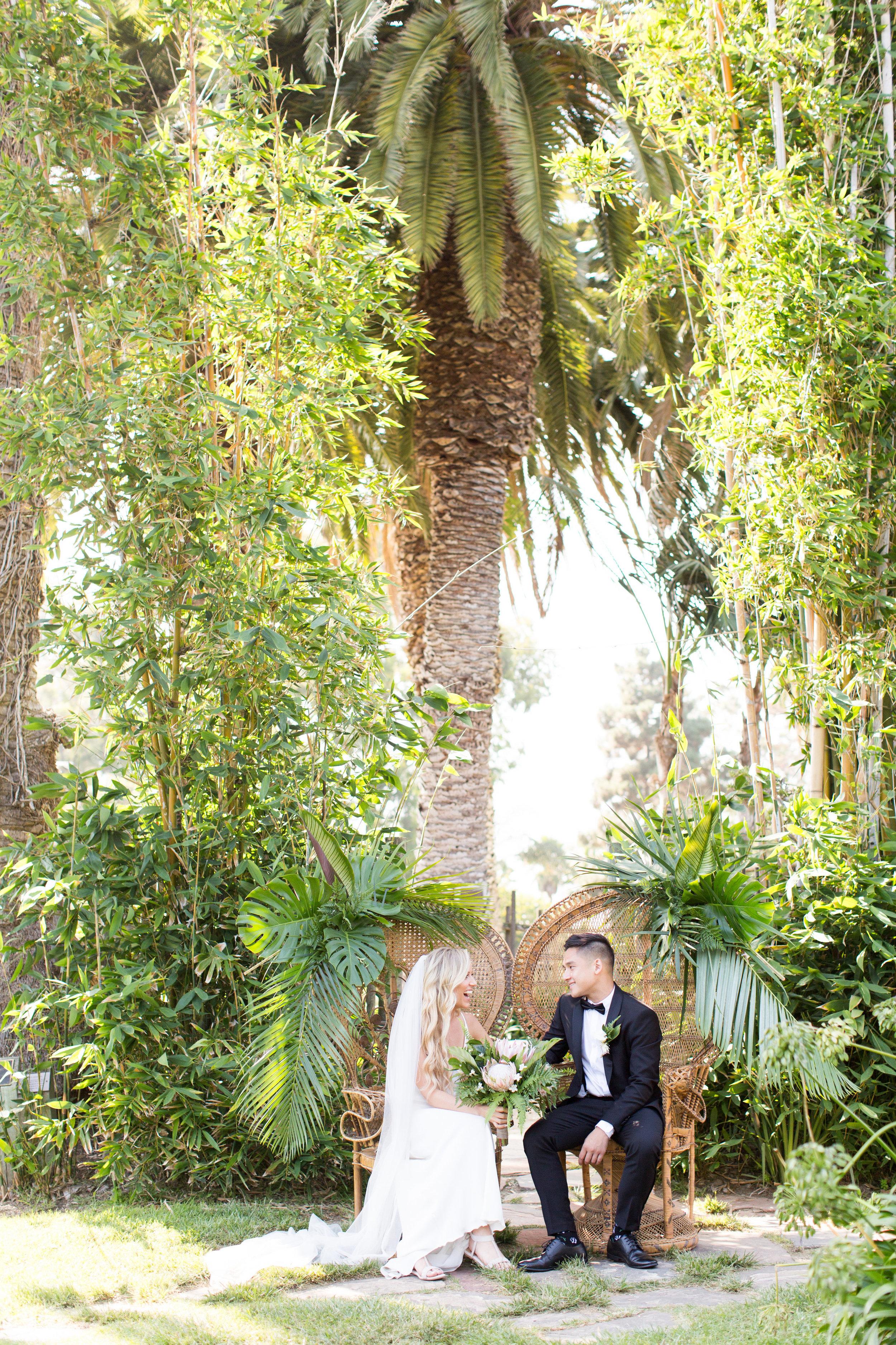 www.santabarbarawedding.com   Santa Barbara Zoo   Wonder Tribe   Events by Rincon   Bride and Groom