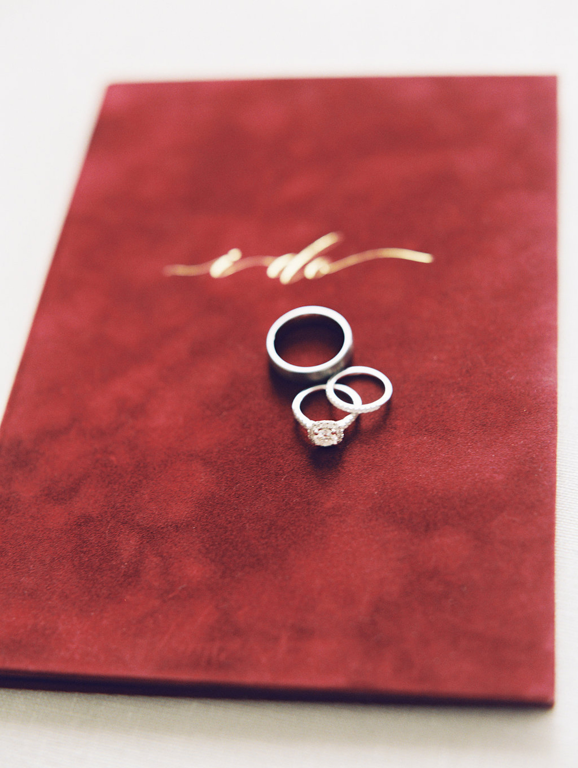 www.santabarbarawedding.com | Lavender & Twine | Michele B. Events | Santa Barbara Courthouse | Wedding Rings