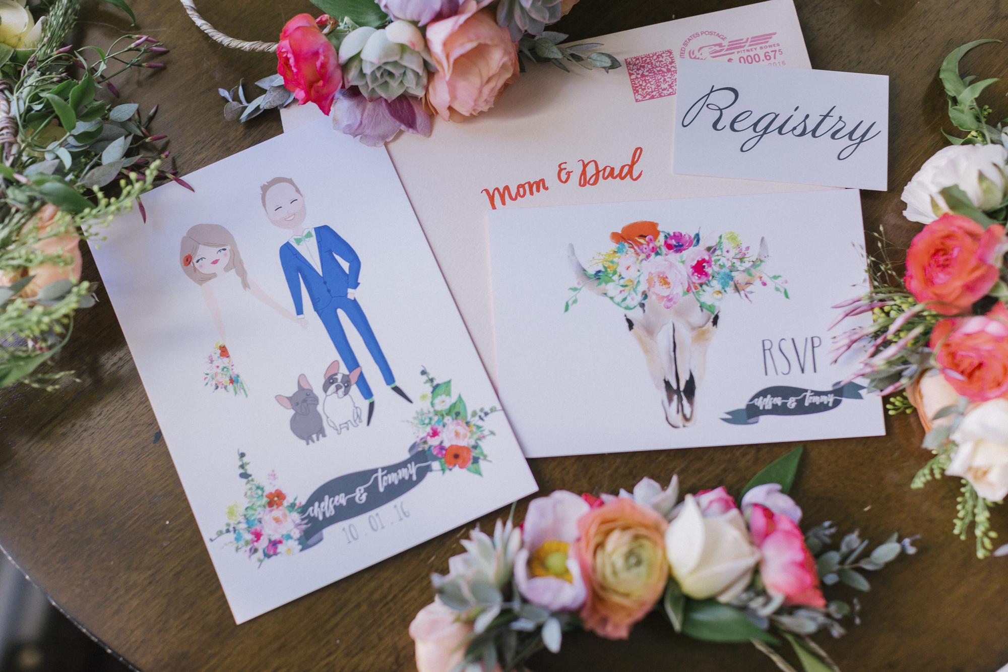 www.santabarbarawedding.com | Santa Barbara Courthouse | Canary Hotel | Aurelia D'Amore Photography | Wedding Invitations