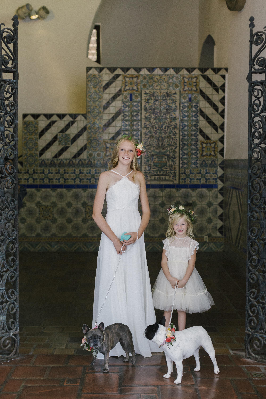 www.santabarbarawedding.com | Santa Barbara Courthouse | Canary Hotel | Aurelia D'Amore Photography | Flower Girls