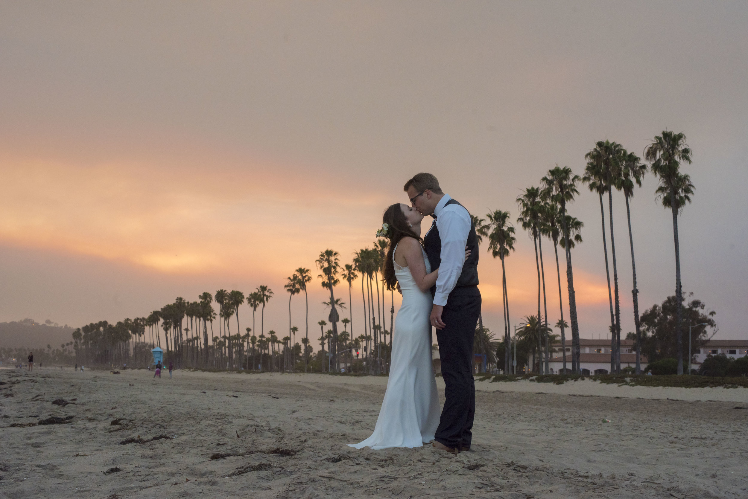 www.santabarbarawedding.com | ByCherry Photography | Felici Events | Bride and Groom