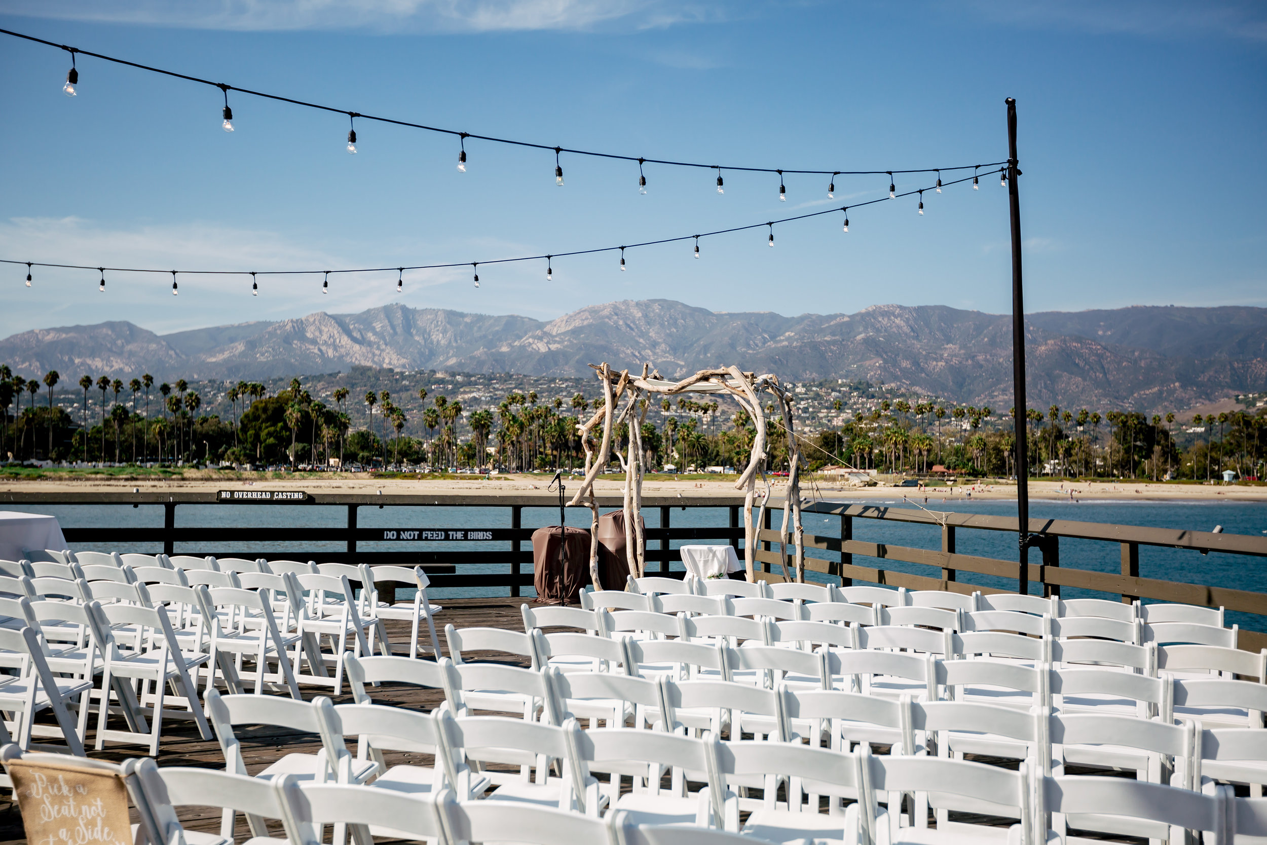 www.santabarbarawedding.com | Rewind Photography | Santa Barbara Sea Center | Events by Fran | Ceremony