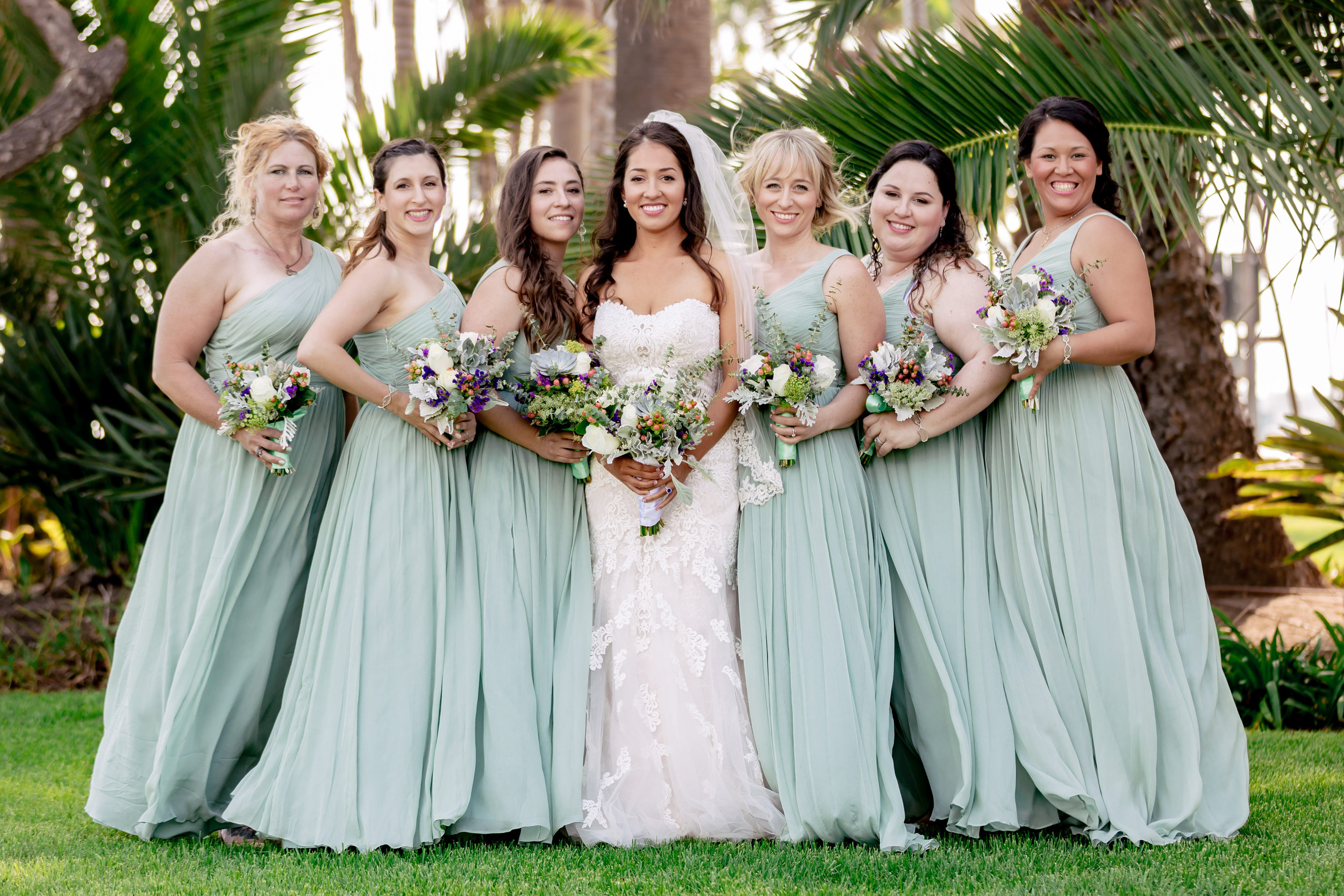 www.santabarbarawedding.com | Rewind Photography | Santa Barbara Sea Center | Events by Fran | Bridesmaids