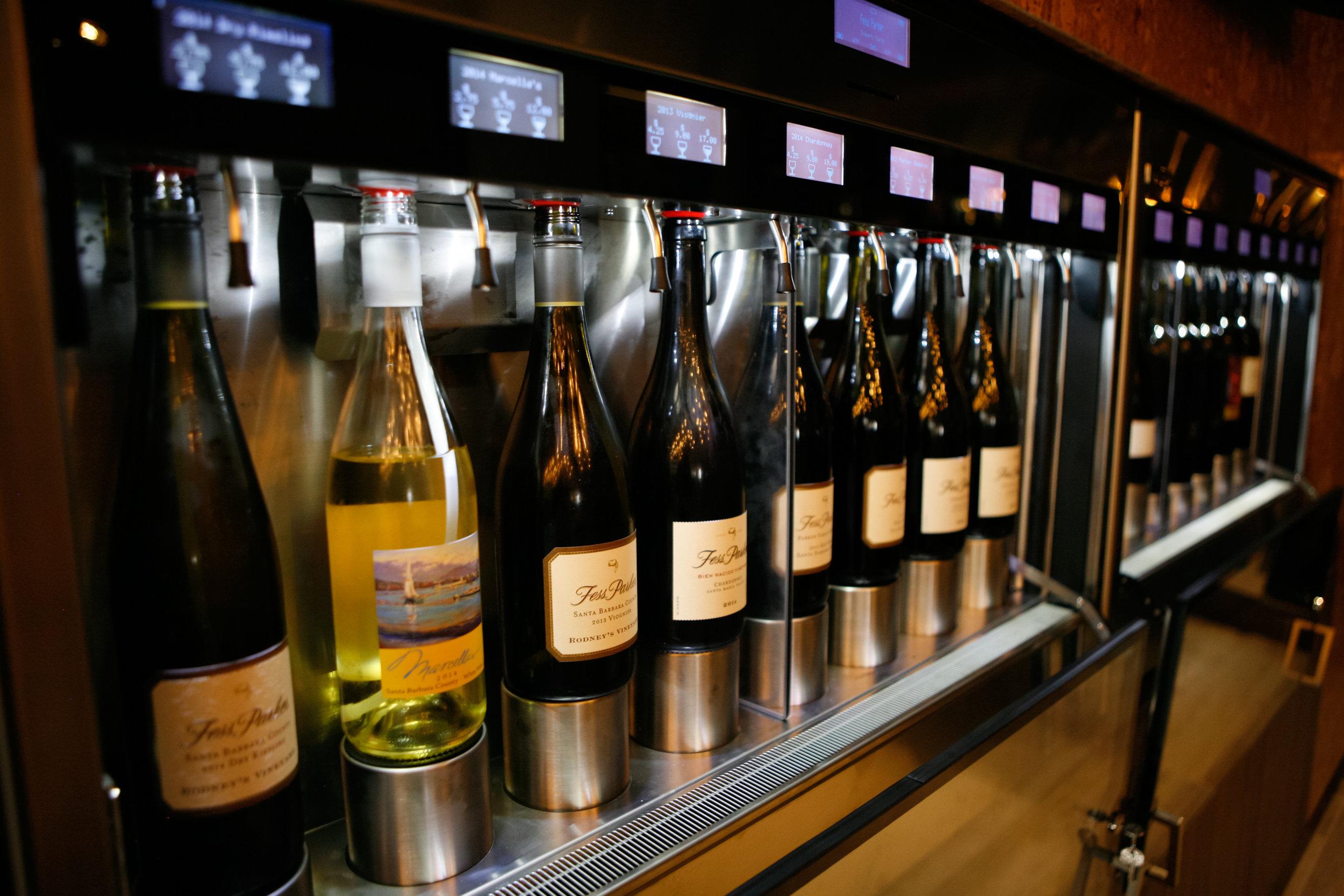 FessParker_WineTastingRoom wine machine.jpg