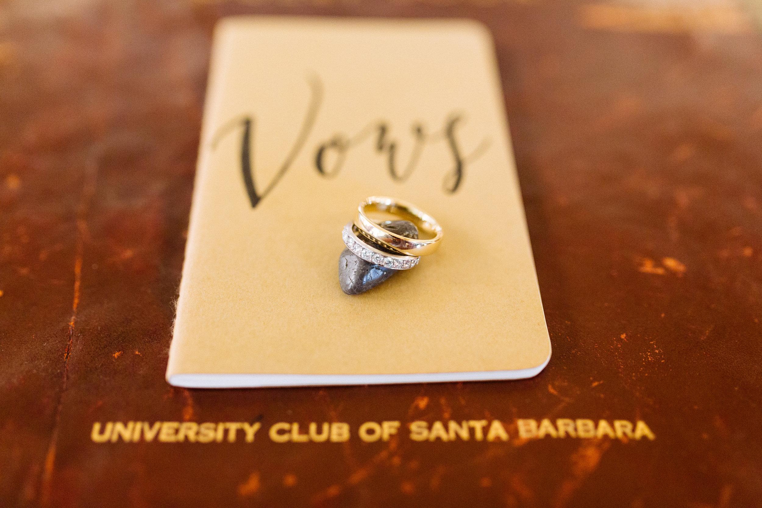 www.santabarbarawedding.com | Kiel Rucker | Riviera Mansion | Wedding Rings