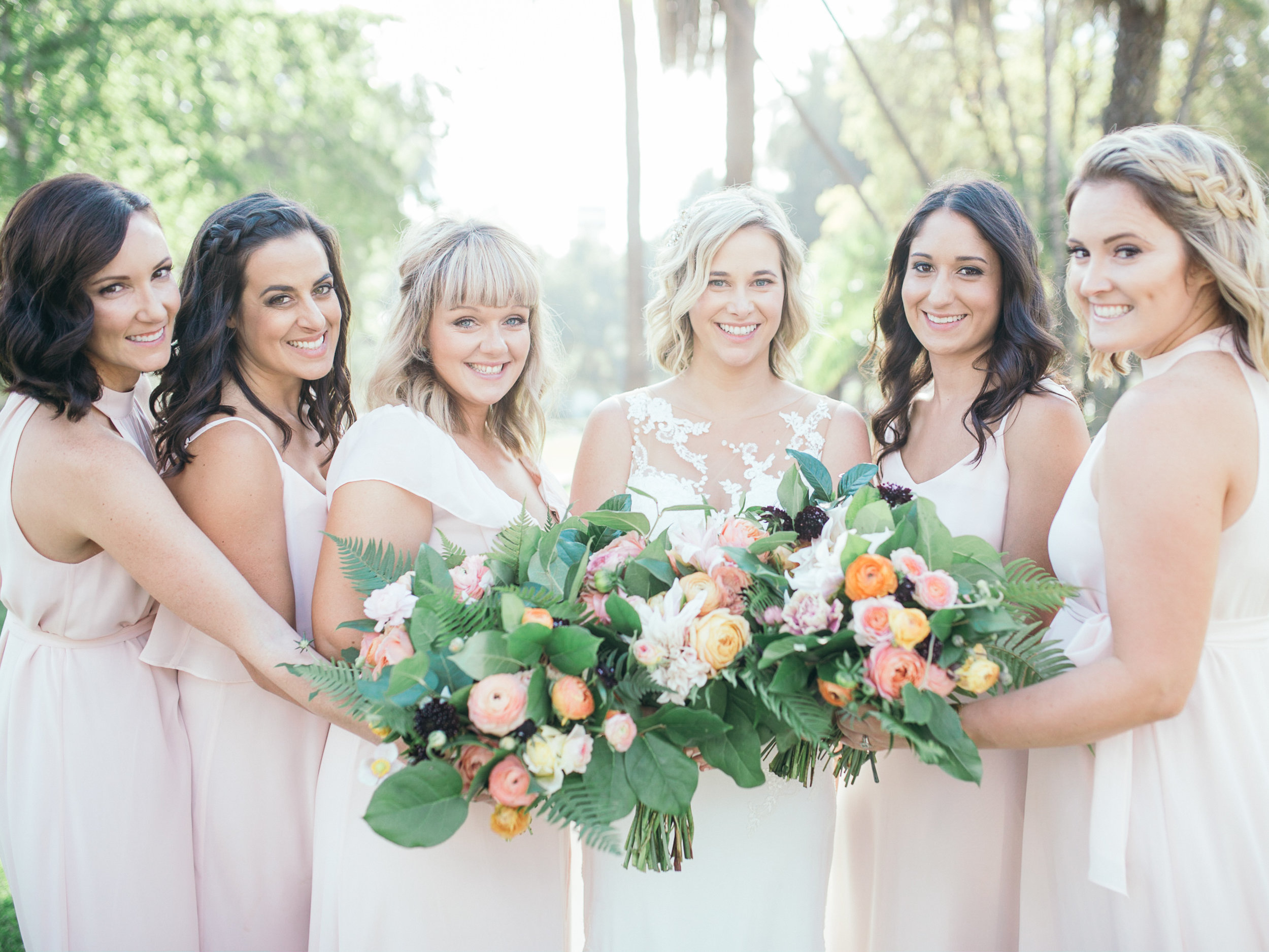 www.santabarbarawedding.com | Kiel Rucker | Riviera Mansion | Bridesmaids