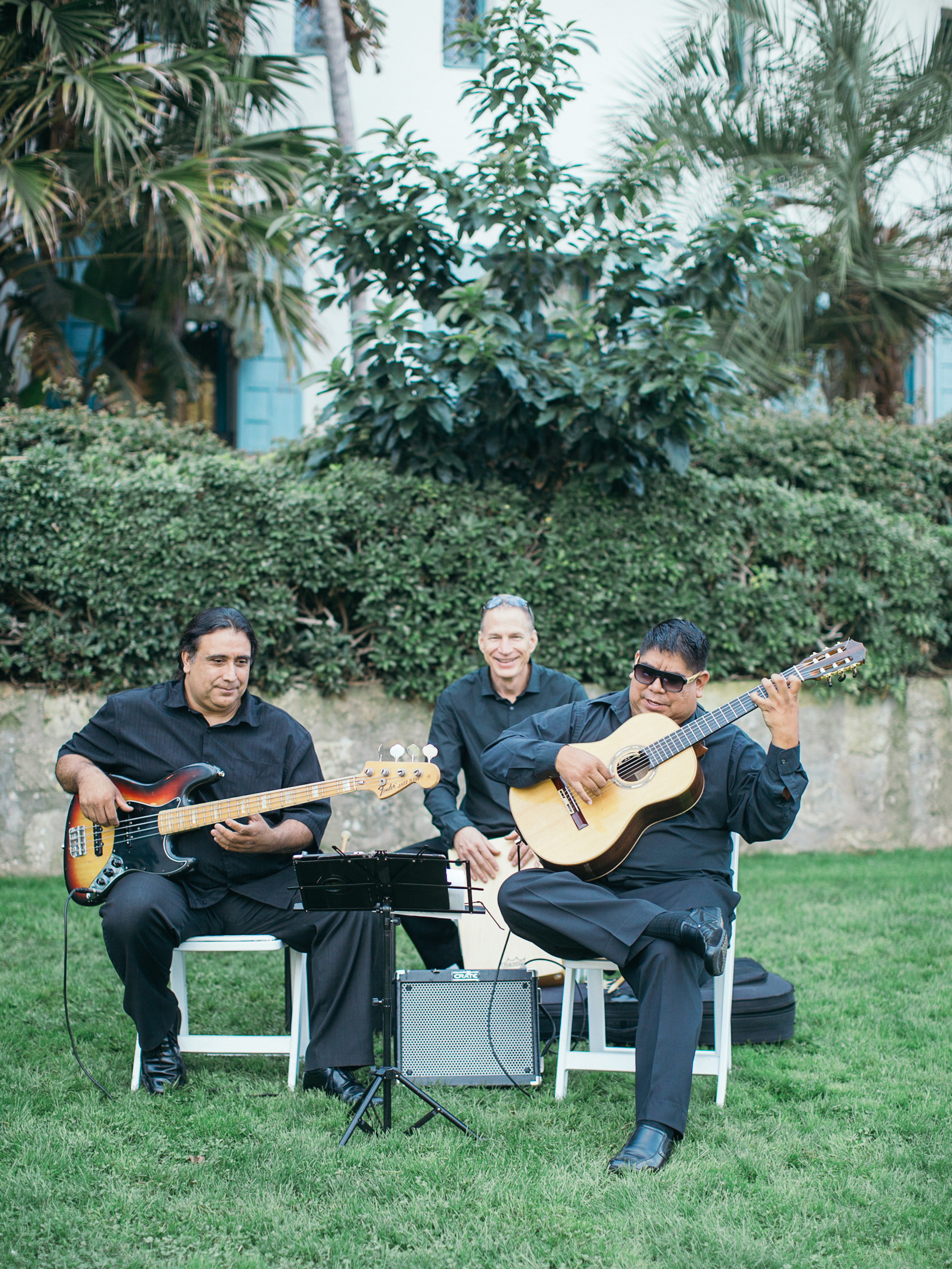 www.santabarbarawedding.com | Kiel Rucker | Riviera Mansion | Ceremony Musicians