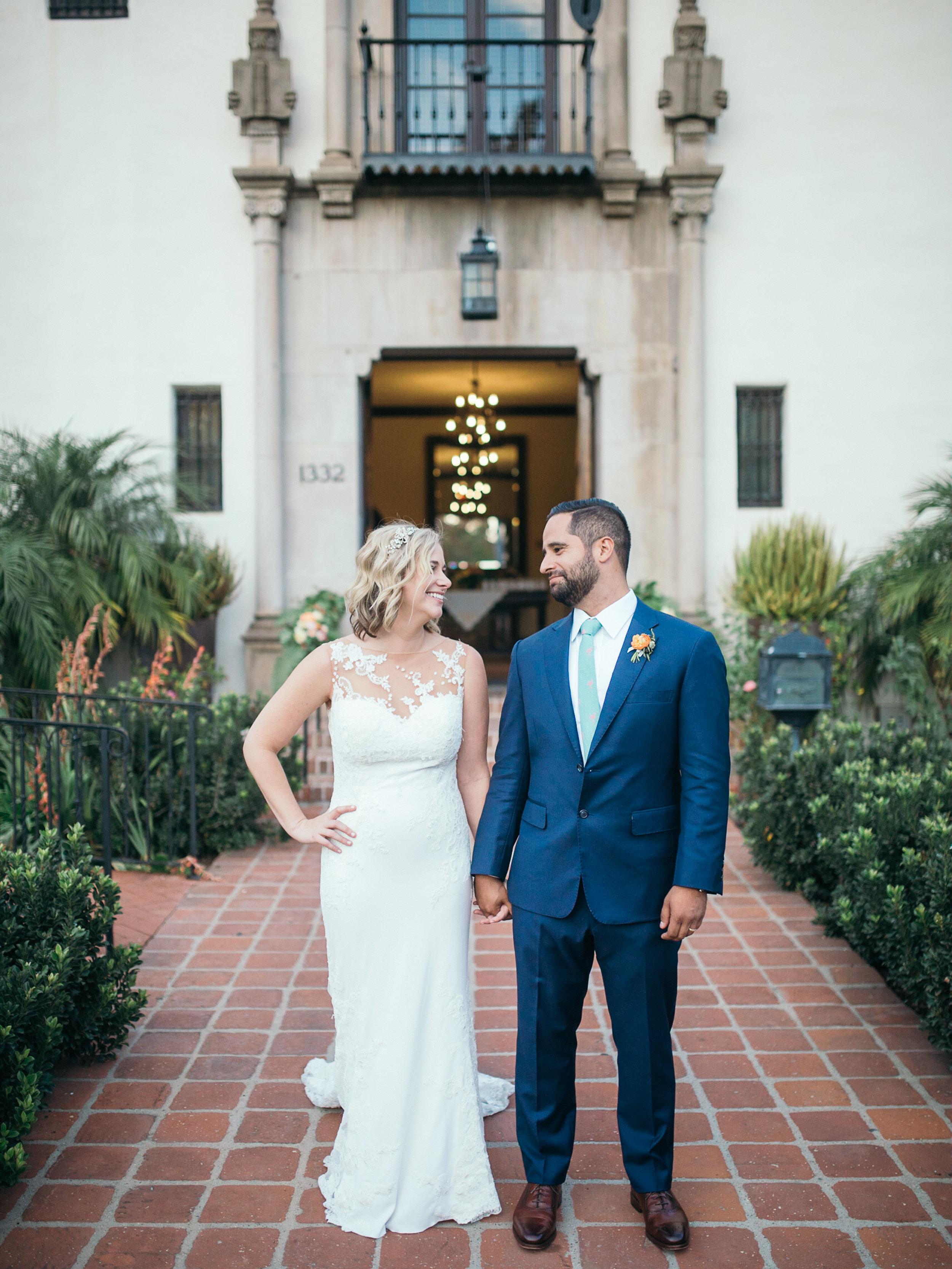 www.santabarbarawedding.com | Kiel Rucker | Riviera Mansion | Bride and Groom