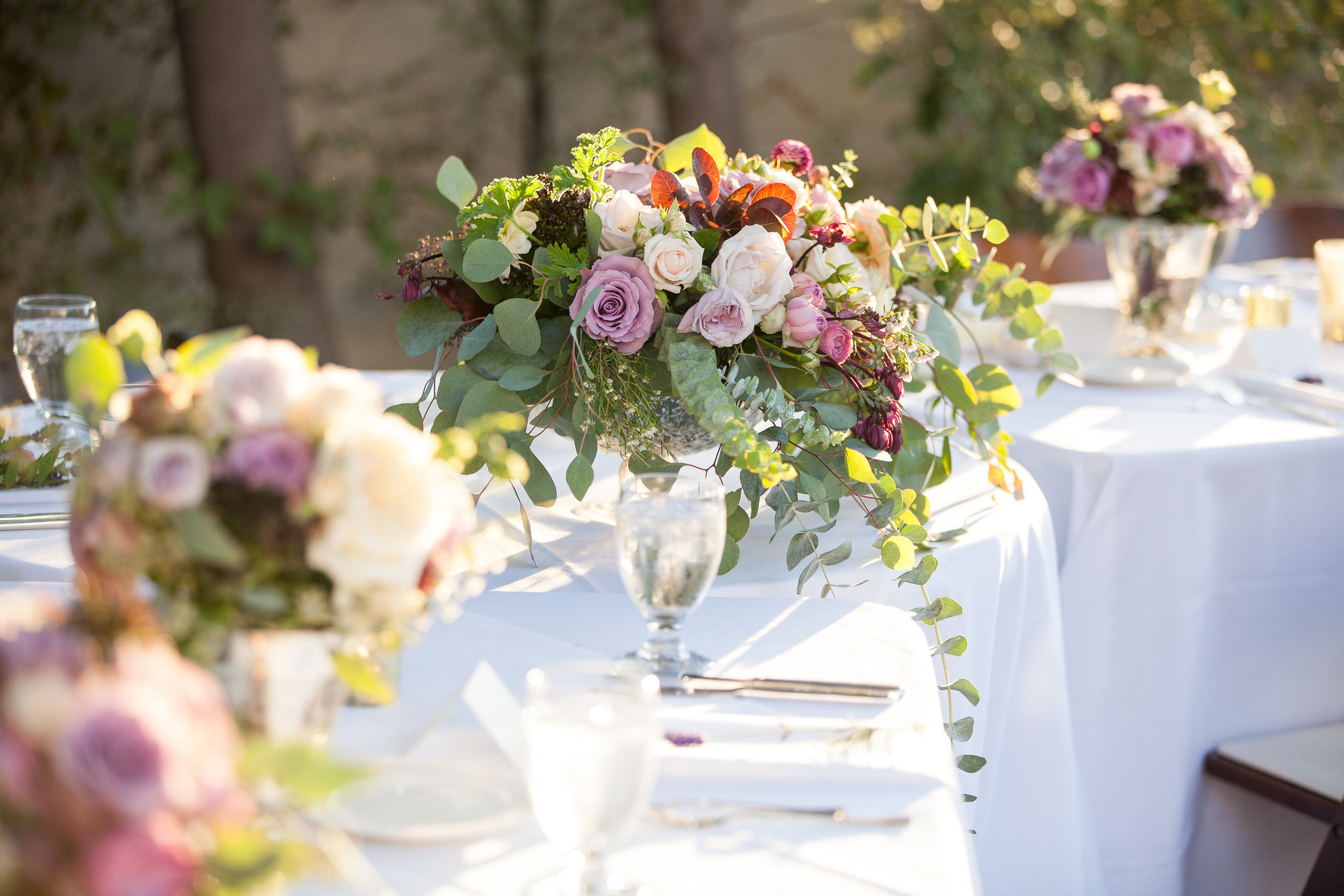 www.santabarbarawedding.com   Melissa Musgrove Photography   Margaret Joan Florals   Floral Arrangement