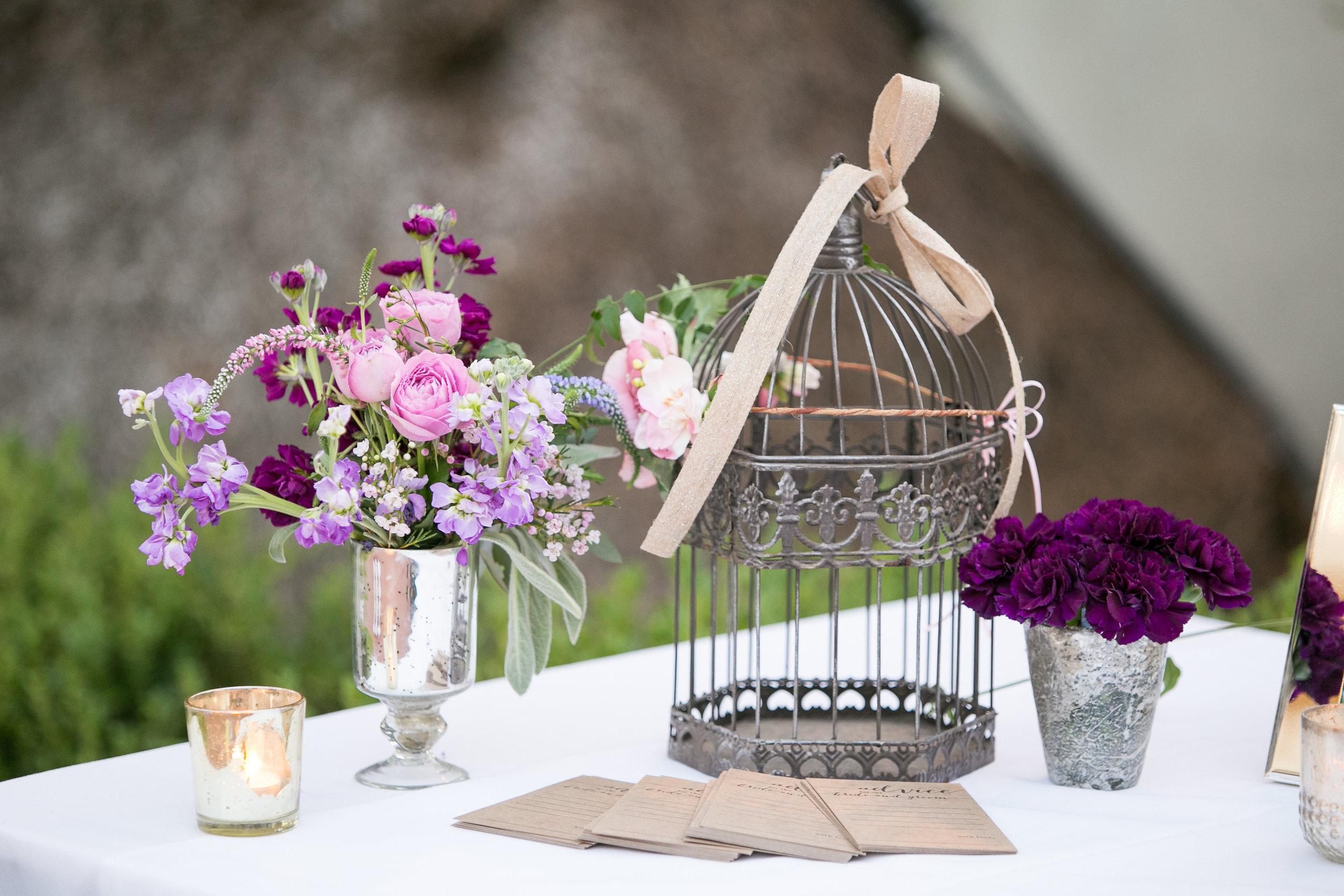 www.santabarbarawedding.com   Melissa Musgrove Photography   Margaret Joan Florals   Reception Details