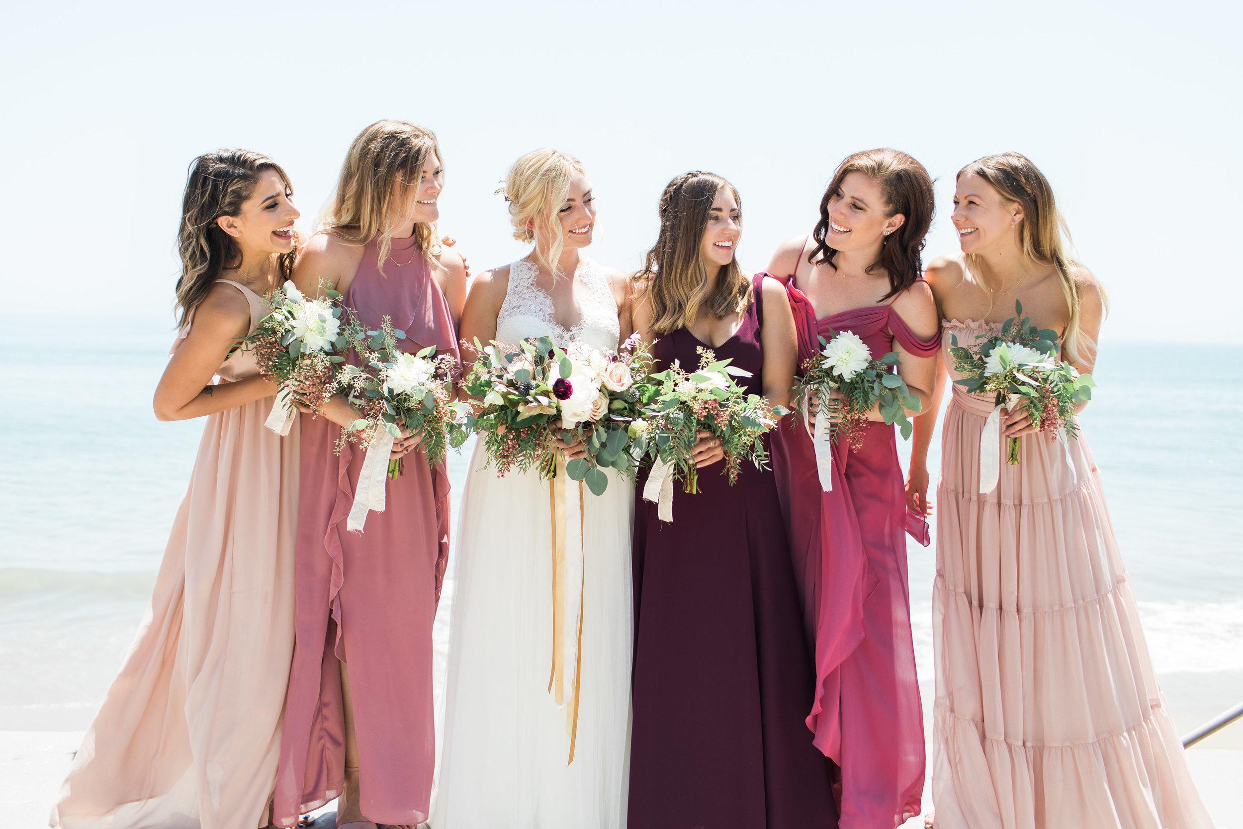 www.santabarbarawedding.com | Ann Johnson | Katie Shuler Photography | Ventura Botanical Gardens | Bridesmaids
