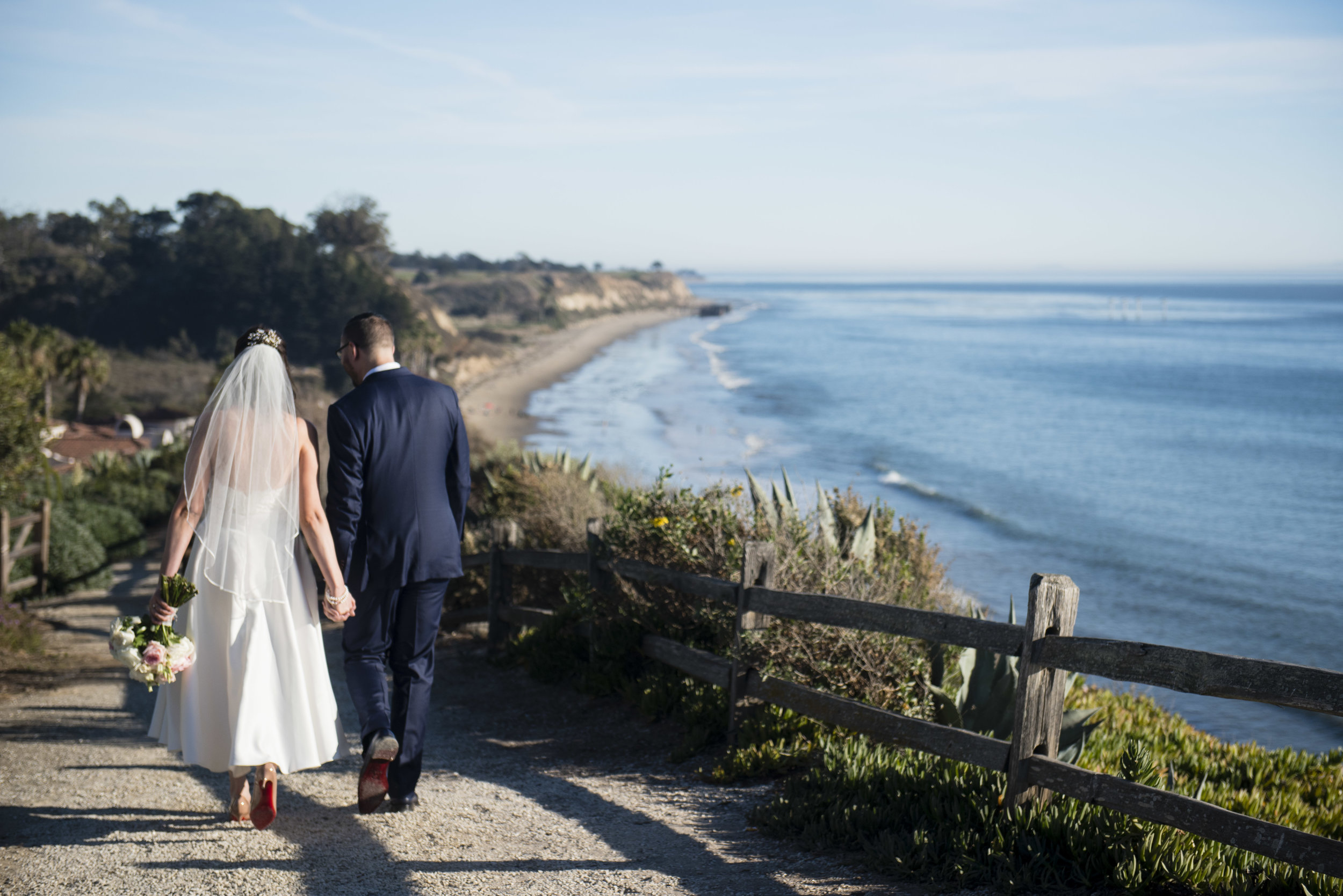 www.santabarbarawedding.com | By Cherry Photography | Santa Barbara Courthouse | Bride and Groom