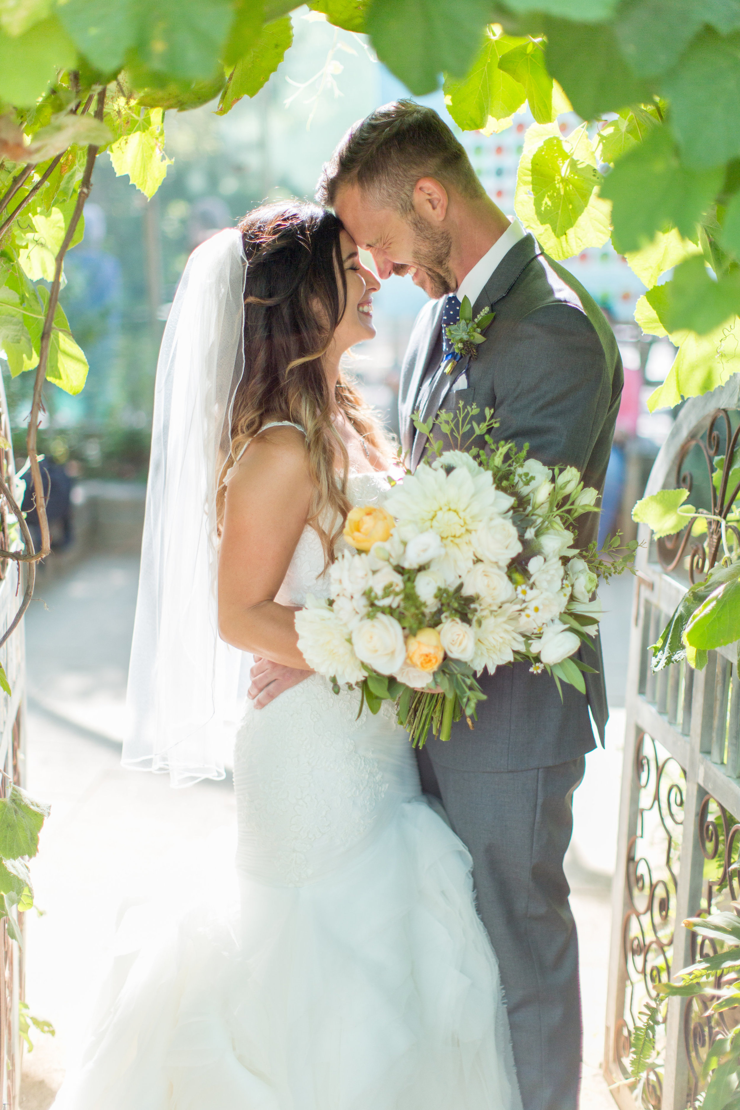 www.santabarbarawedding.com | Wonder Tribe | Margaret Joan Florals | Bride and Groom