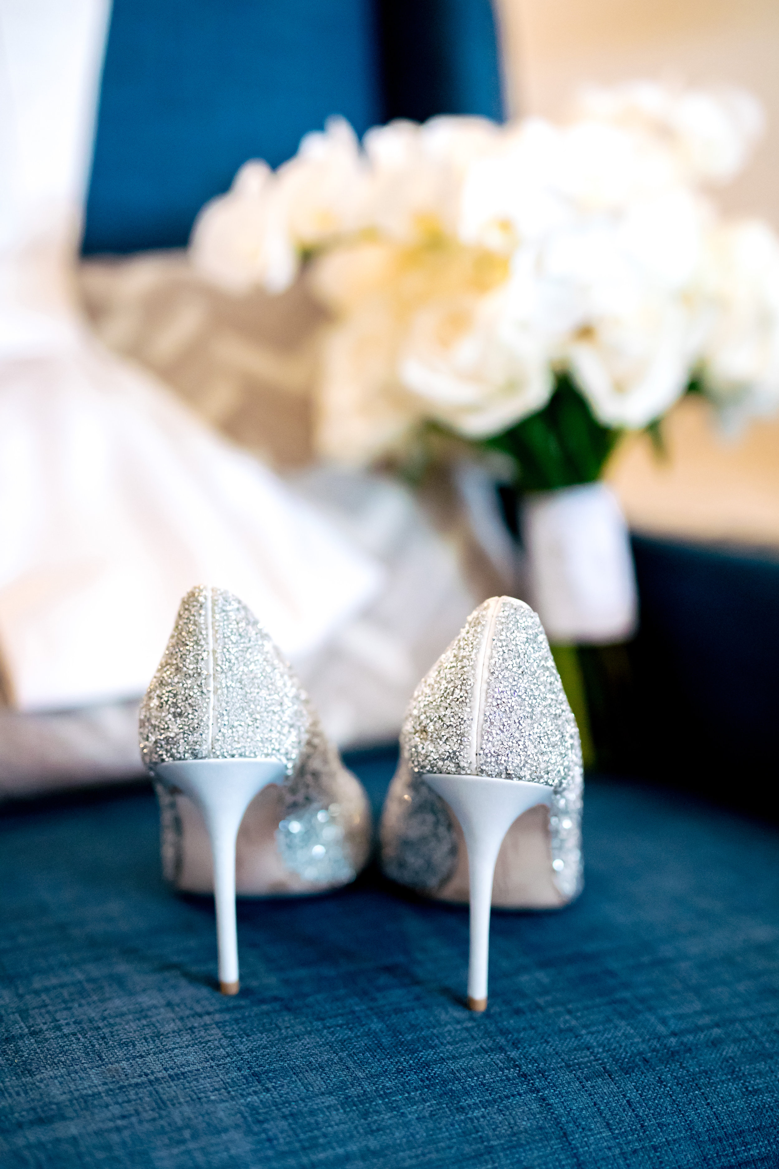 www.santabarbarawedding.com | Rewind Photography | The Ritz Carlton Bacara | Amazing Days Events | Bride's Shoes