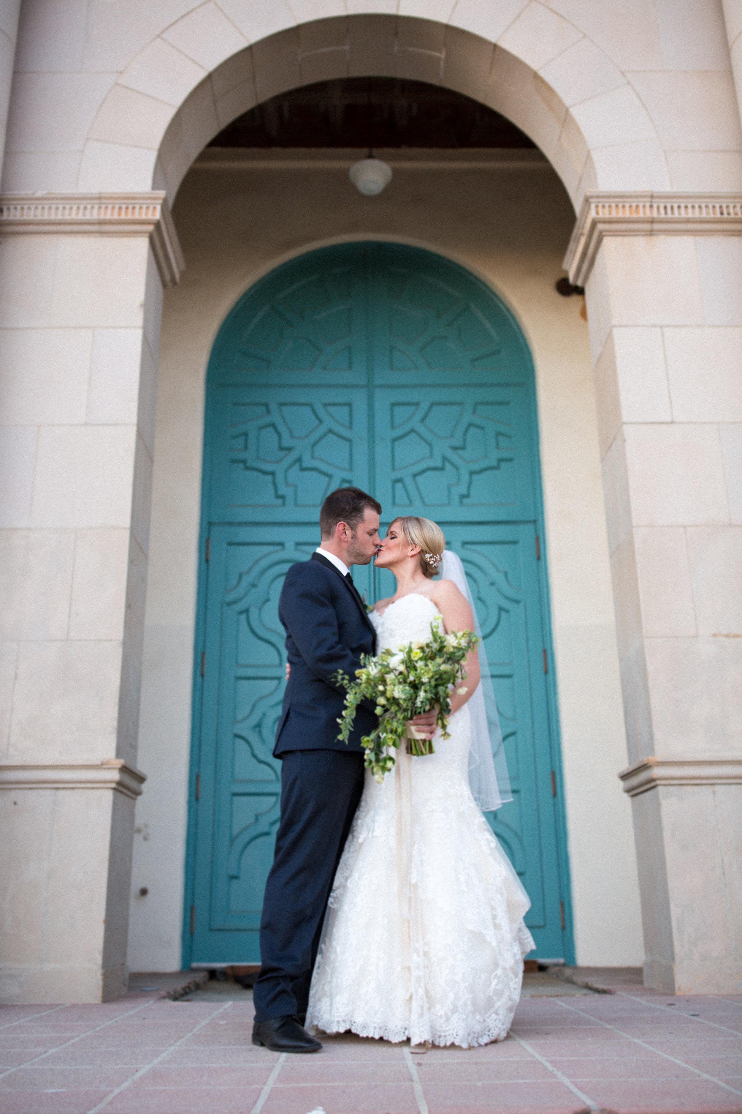 www.santabarbarawedding.com | Elizabeth Victoria Photo | Garden Street Academy | Bride and Groom