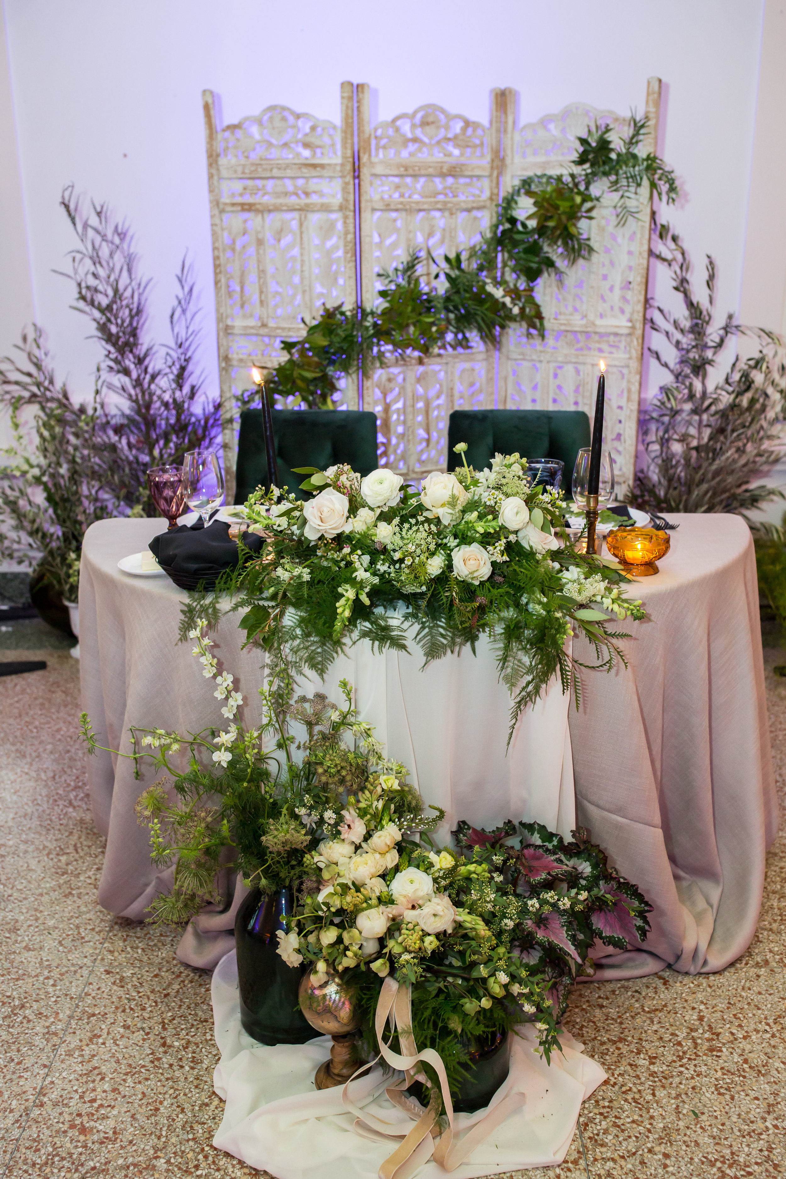 www.santabarbarawedding.com | Elizabeth Victoria Photo | Garden Street Academy | Head Table