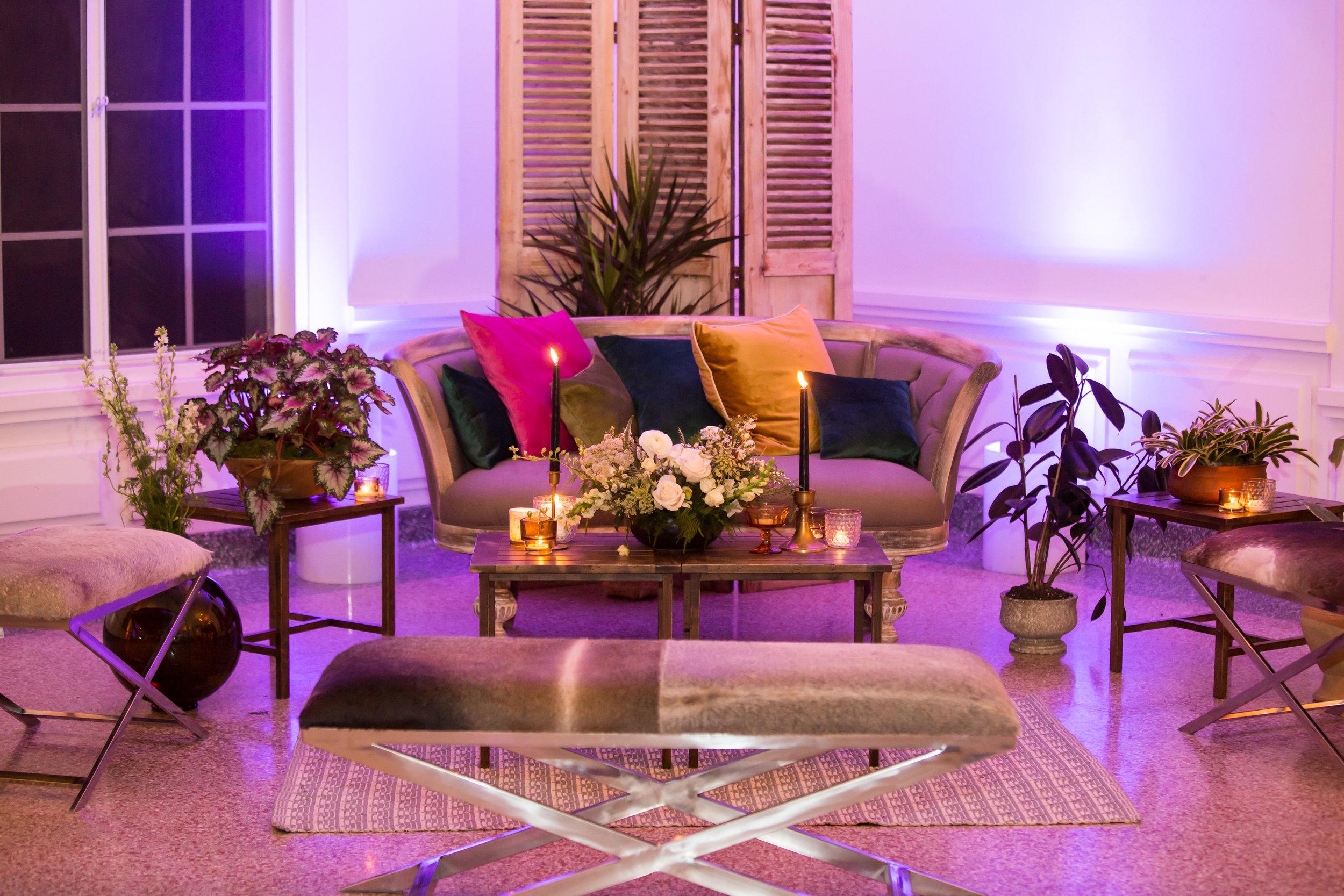 www.santabarbarawedding.com | Elizabeth Victoria Photo | Garden Street Academy | Reception Seating
