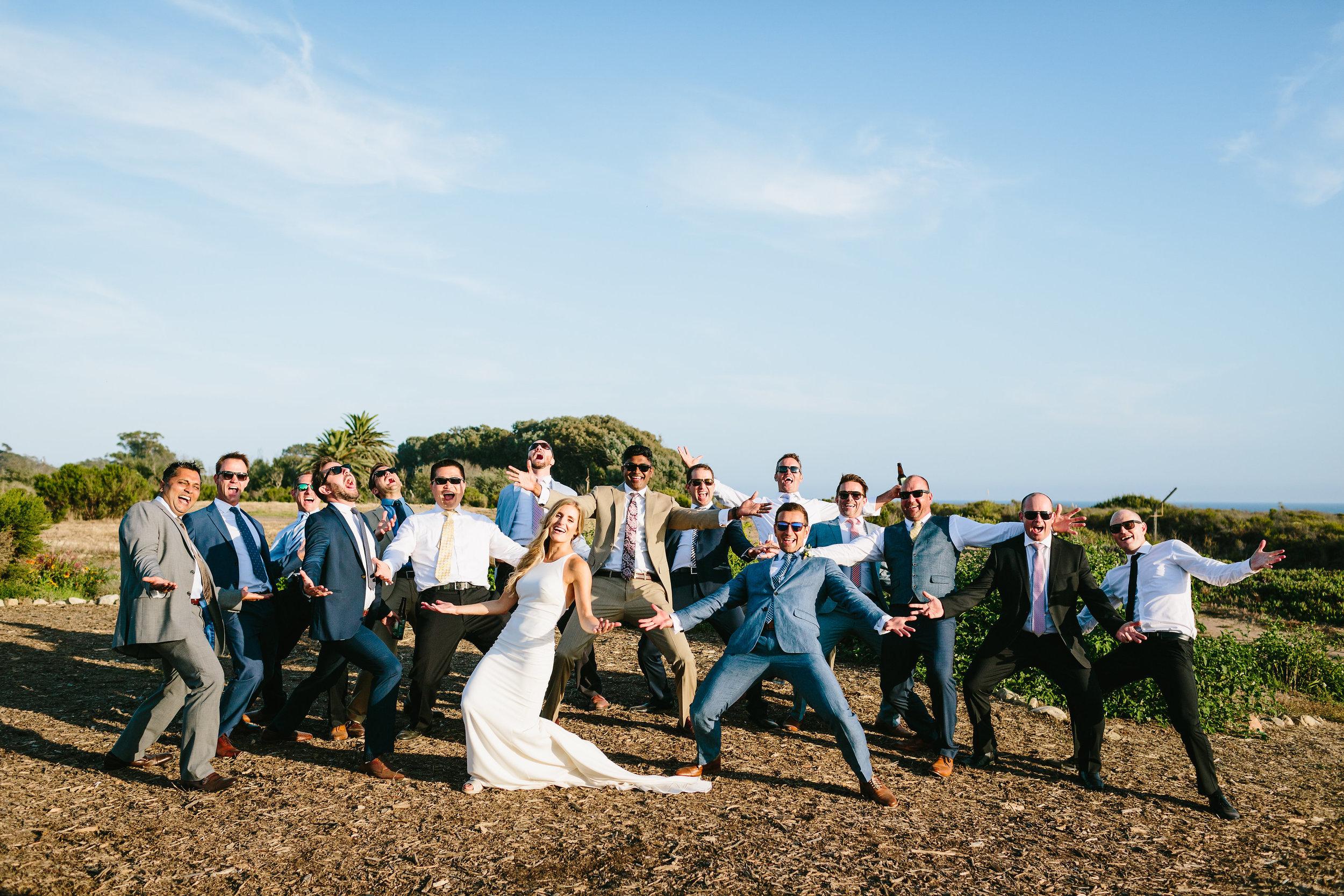 www.santabarbarawedding.com | Jodee Debes | Dos Pueblos Orchid Farm | Bridal Party