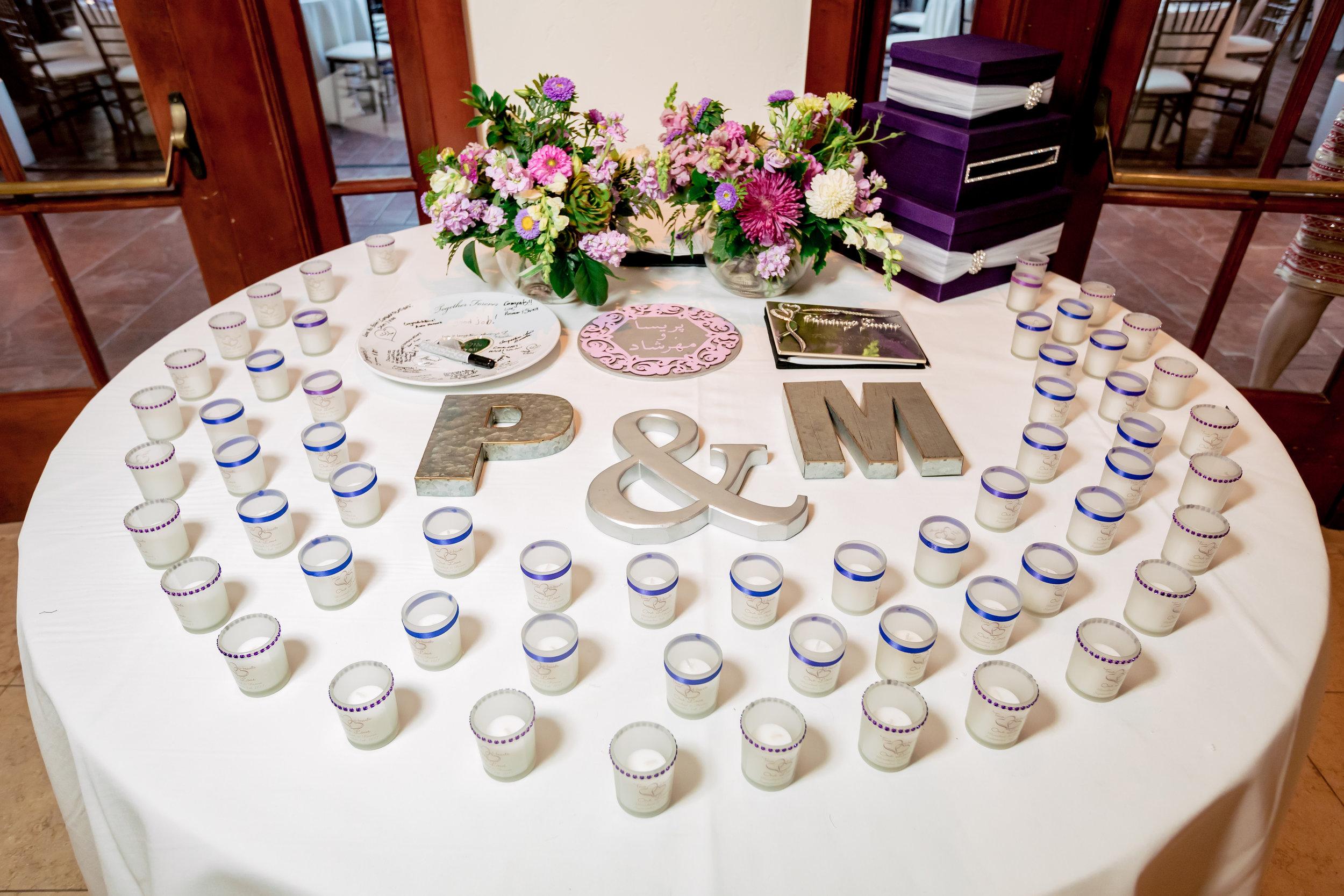 www.santabarbarawedding.com | Bacara Resort | Rewind Photography | Elegant Sofreh Design | Escort Cards