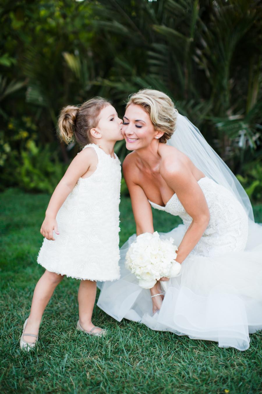 www.santabarbarawedding.com | Ann Johnson Events | Jessica Lewis | The Biltmore | Flower Girl and Bride
