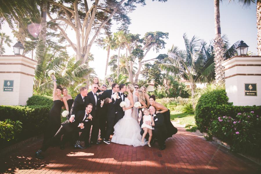 www.santabarbarawedding.com | Ann Johnson Events | Jessica Lewis | The Biltmore | Bridesmaids
