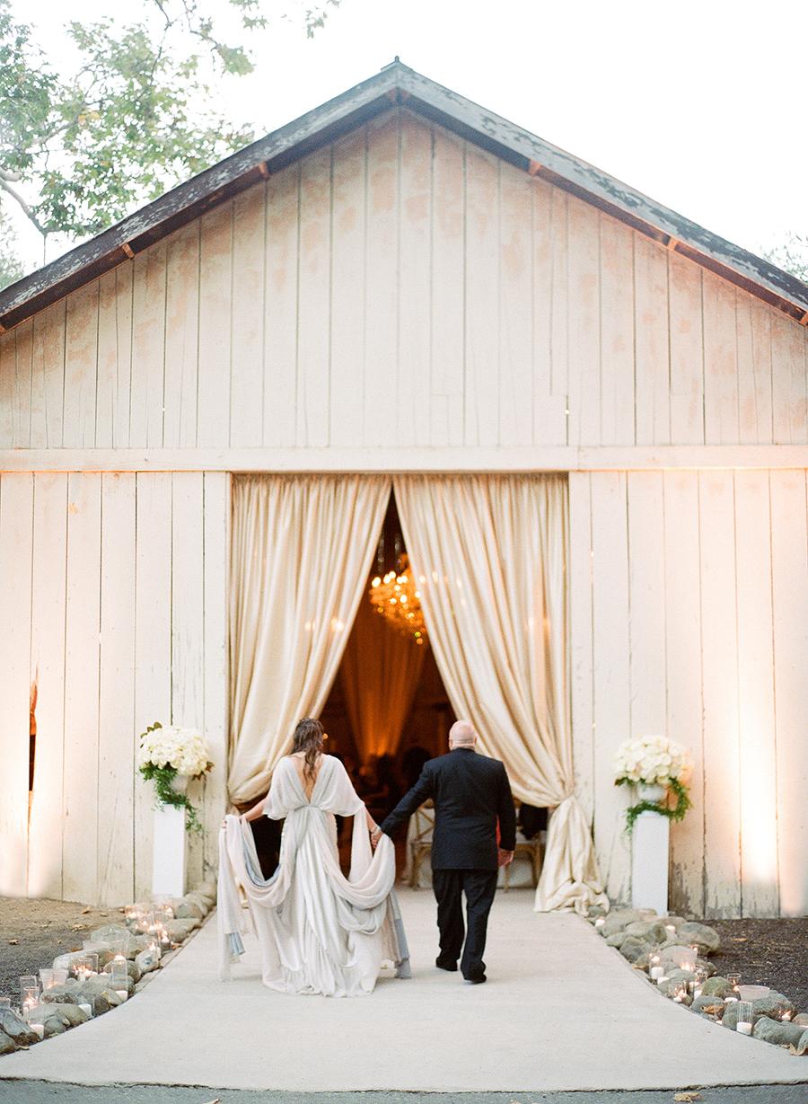 www.santabarbarawedding.com   Dos Pueblos Ranch   Soigne Productions   Lacie Hansen   Reception Entrance