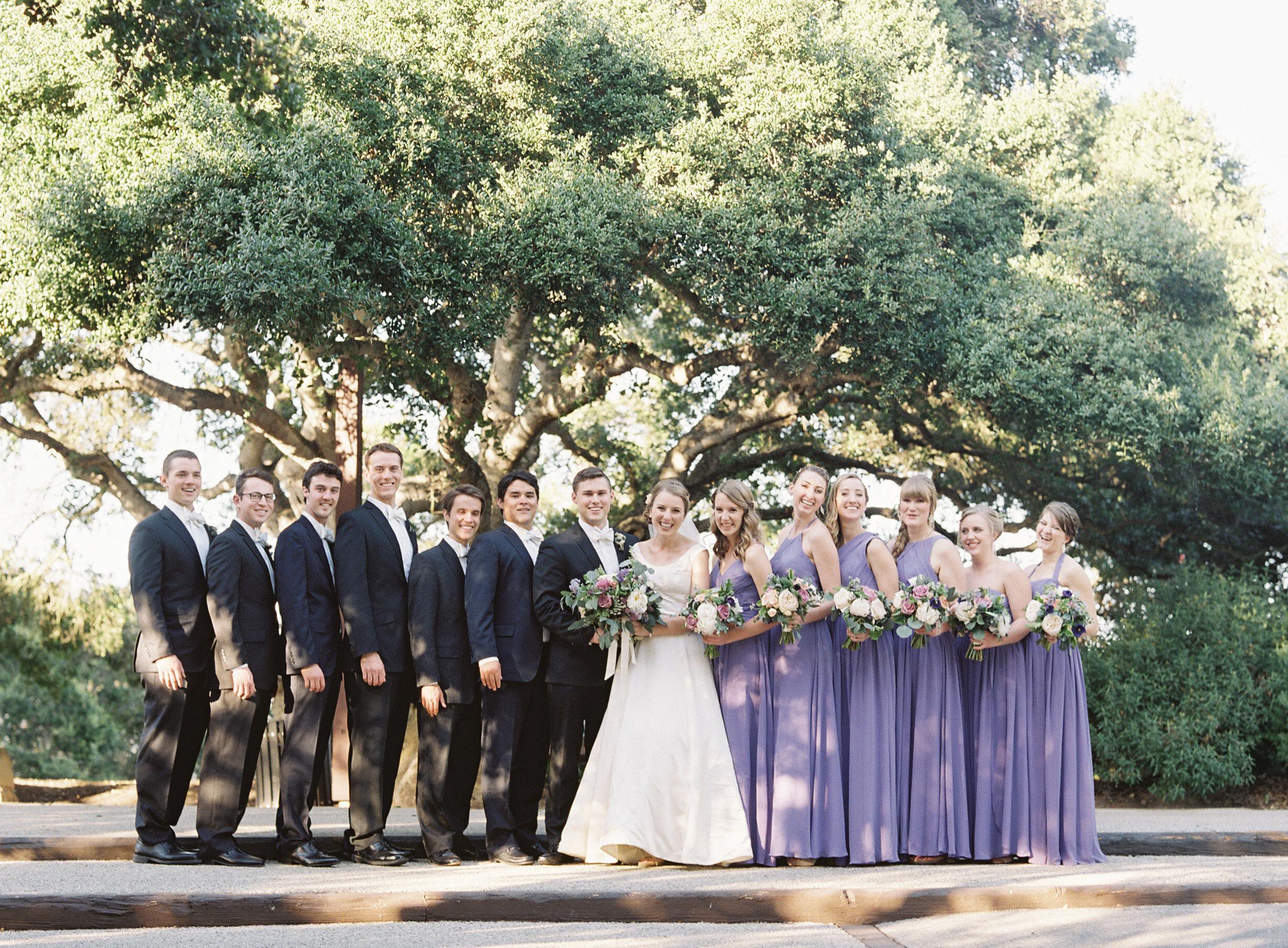 www.santabarbarawedding.com   Trinity Episcopal Church   Elings Park   Sarah Weir   Burlap & Bordeaux   Bridal Party