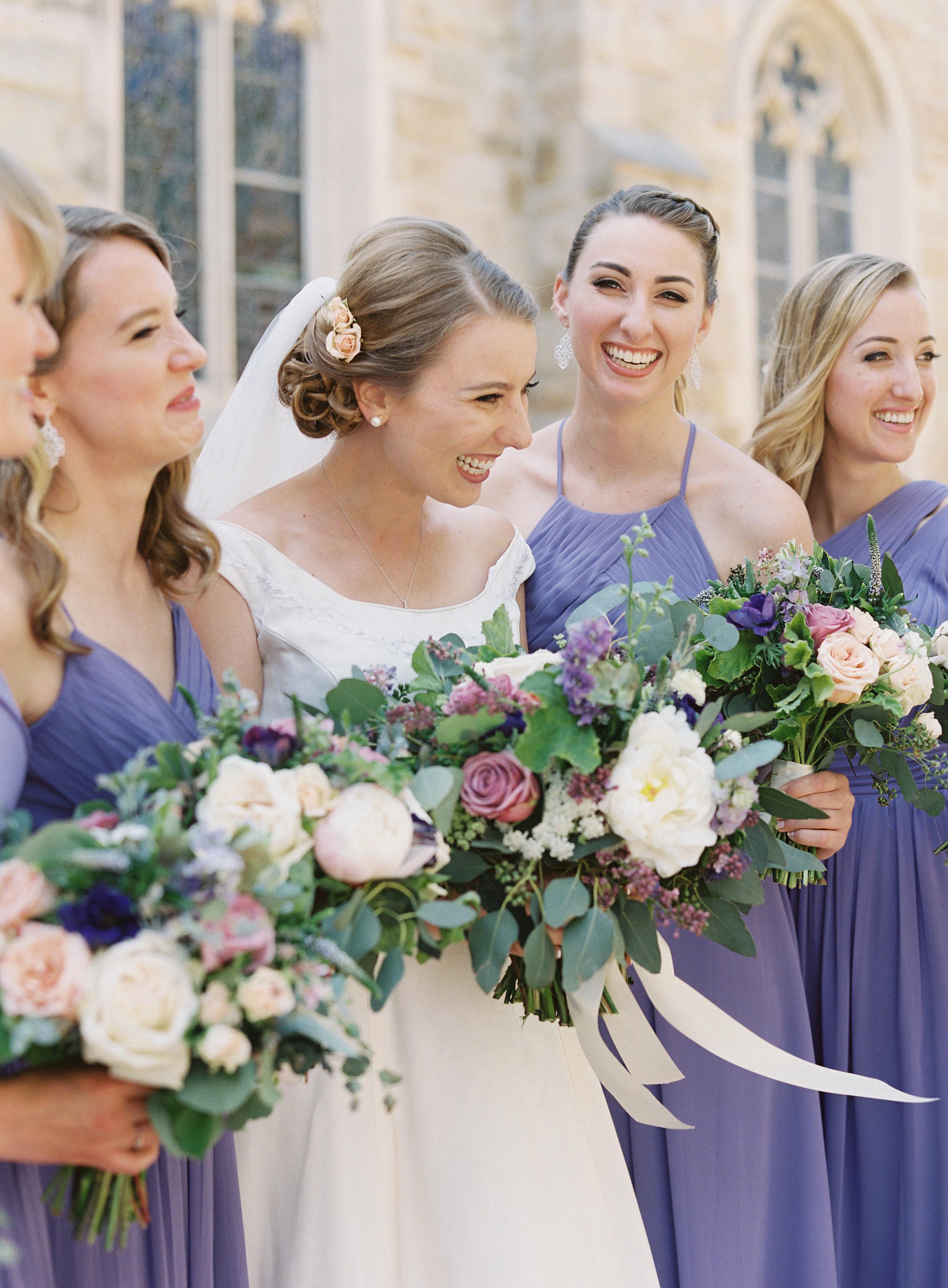 www.santabarbarawedding.com   Trinity Episcopal Church   Elings Park   Sarah Weir   Burlap & Bordeaux   Bridesmaids