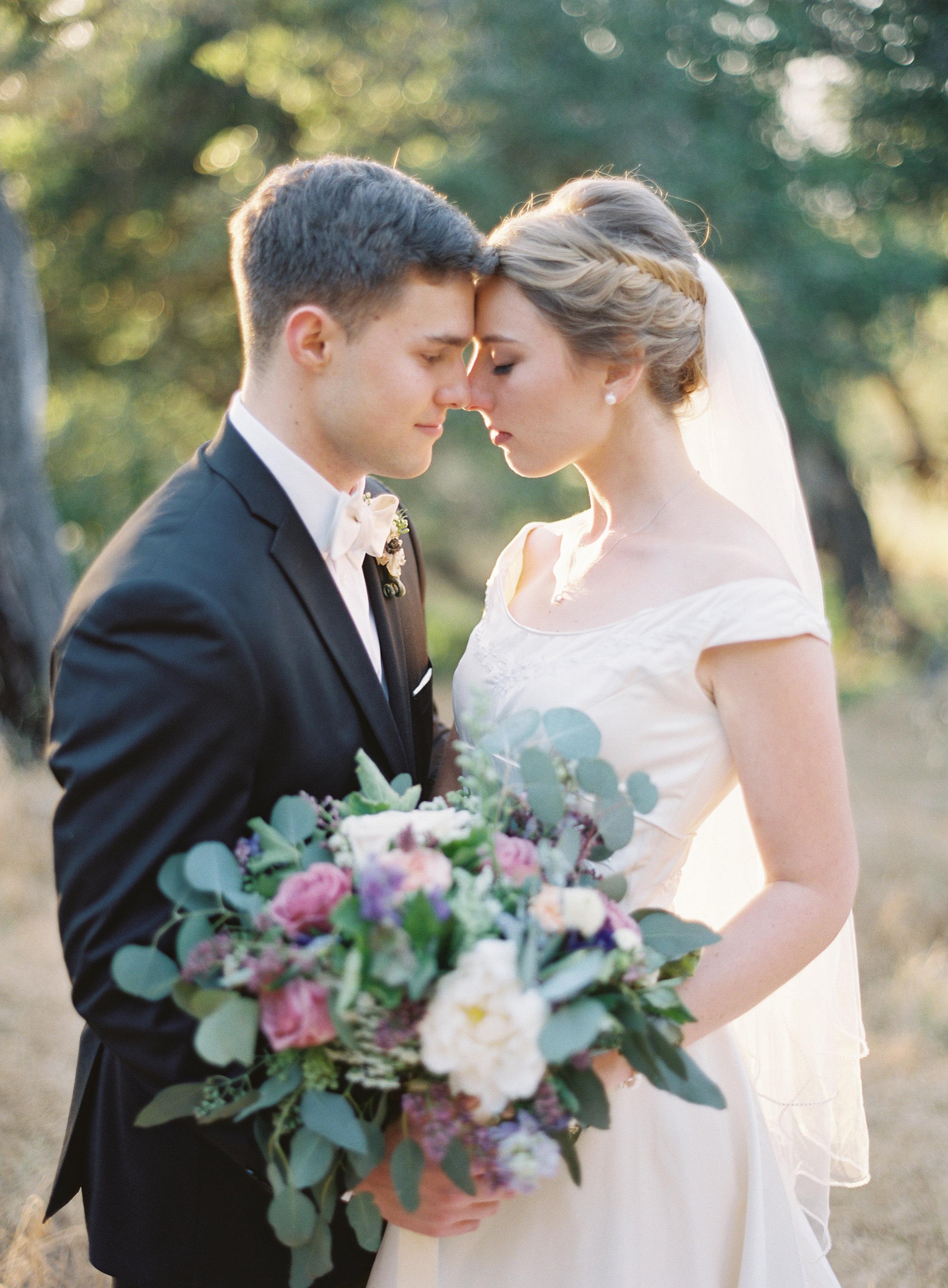 www.santabarbarawedding.com   Trinity Episcopal Church   Elings Park   Sarah Weir   Burlap & Bordeaux   Bride and Groom