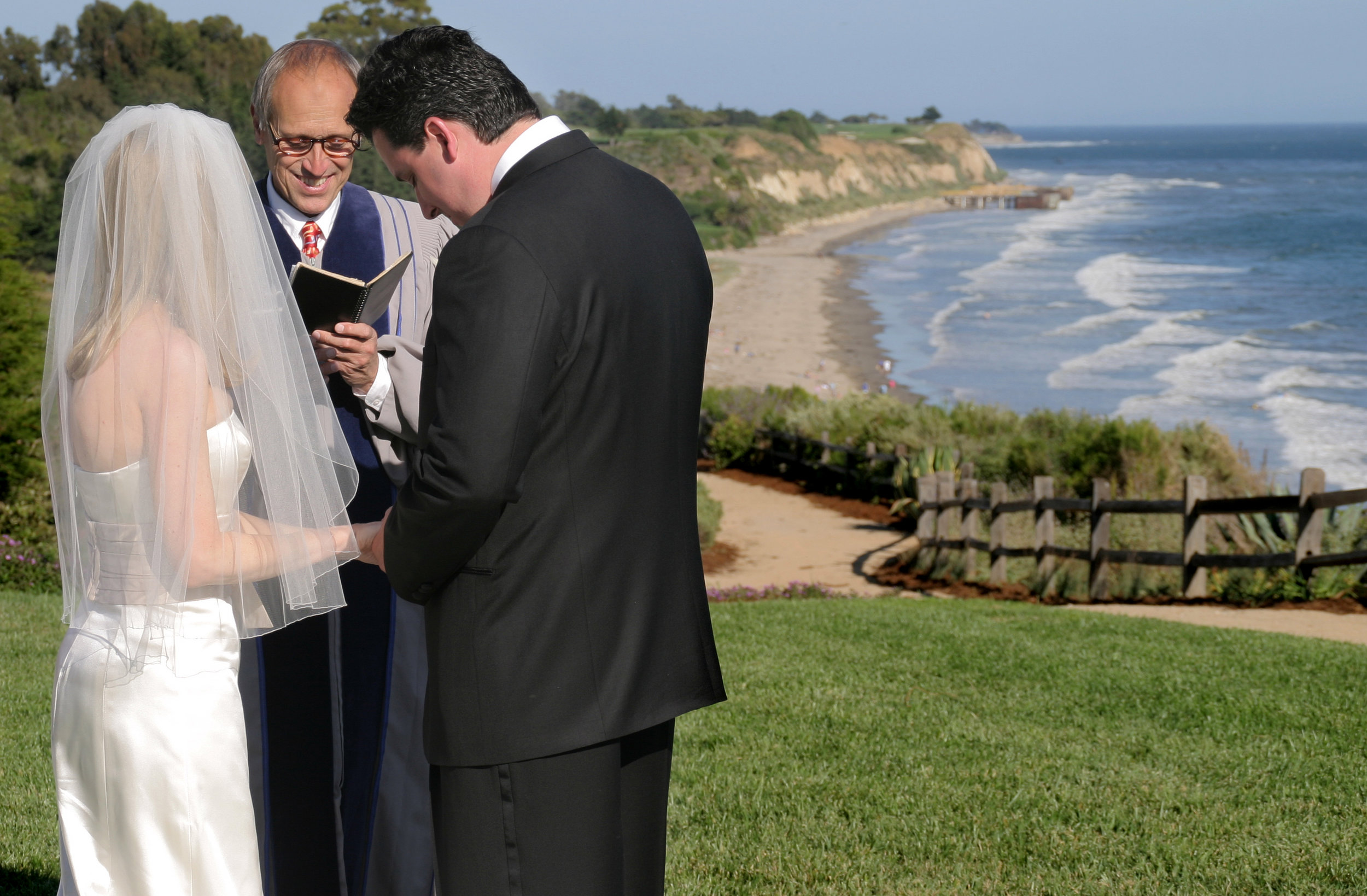 www.santabarbarawedding.com | Father Jerry Bellamy