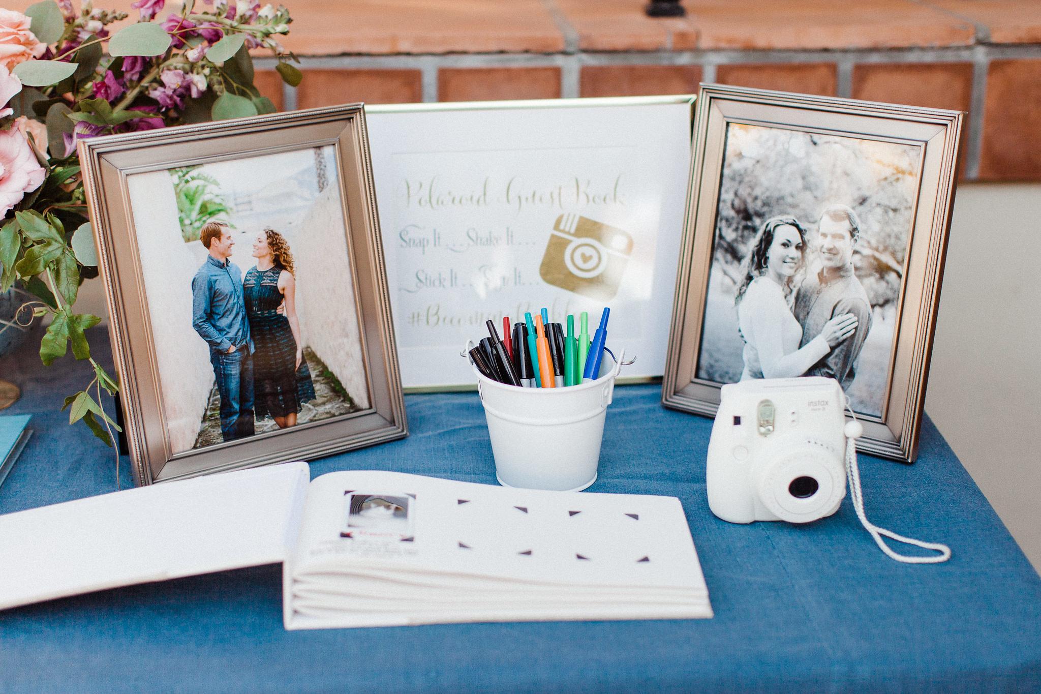 www.santabarbarawedding.com | Canary Hotel | Grace Kathryn Photography | Wedding Guest Book