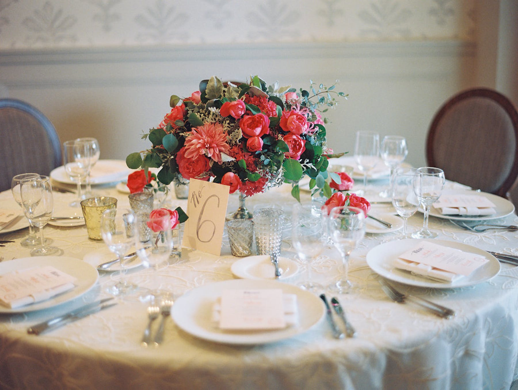 www.santabarbarawedding.com | El Encanto | Coco Rose Design | This Modern Romance | Reception Table