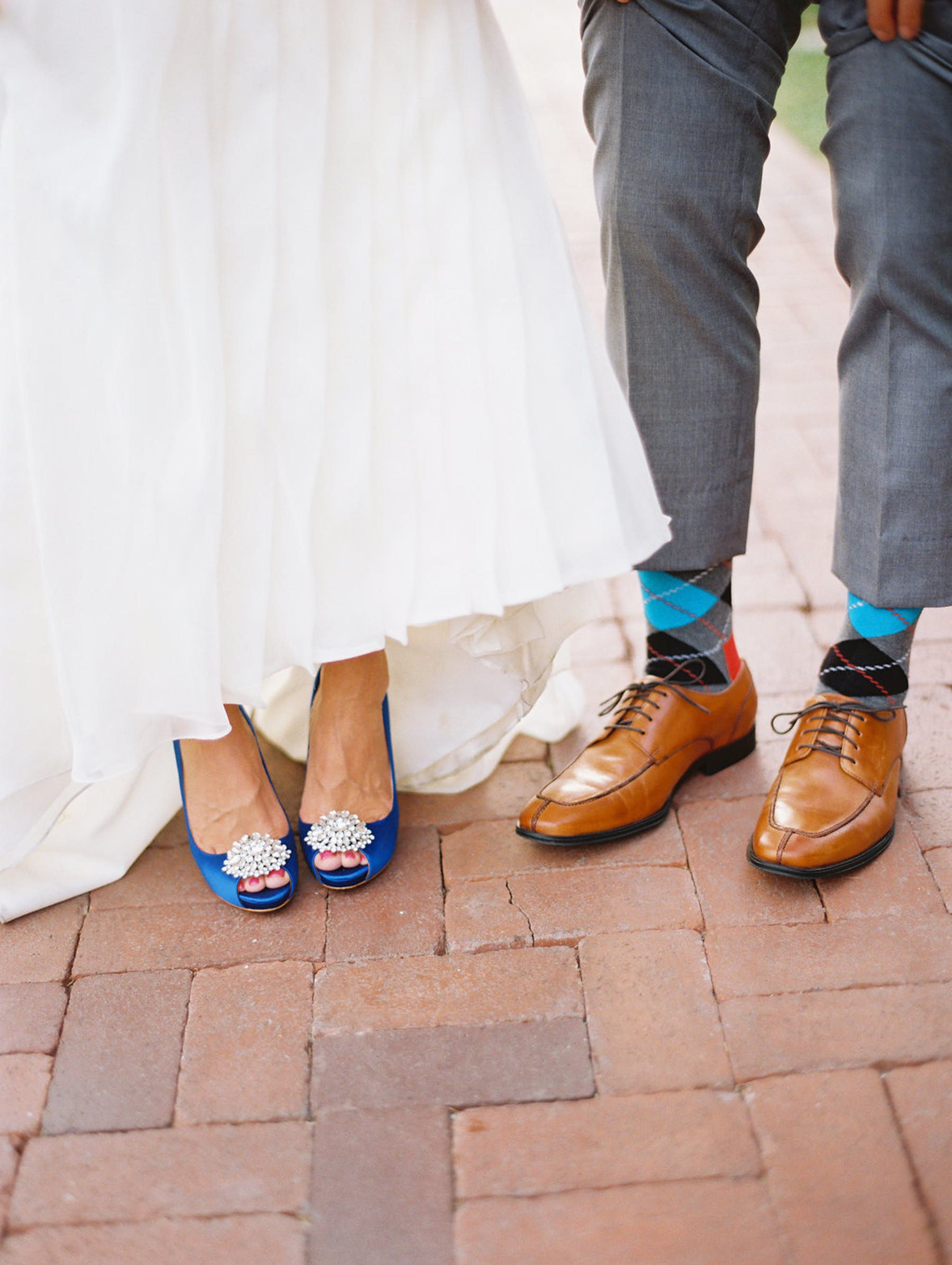 www.santabarbarawedding.com | El Encanto | Coco Rose Design | This Modern Romance | Bride and Groom's Shoes