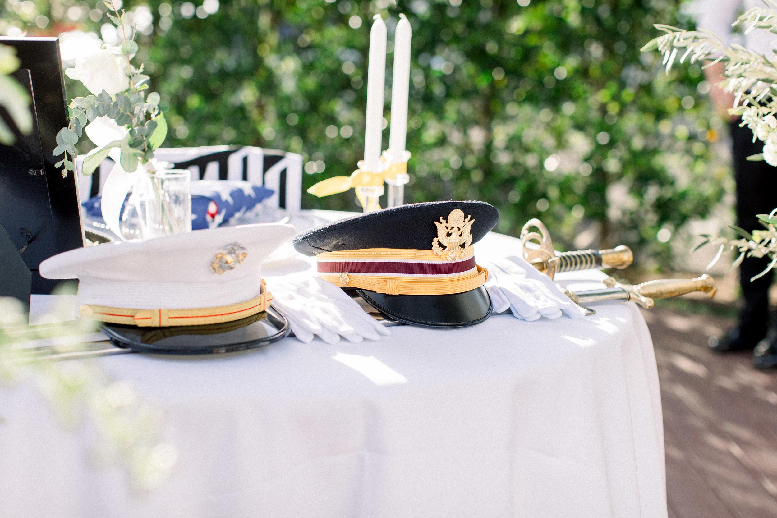 www.santabarbarawedding.com | Jenny Quicksall | Santa Barbara Club | Bluebell Events | Memorial Table