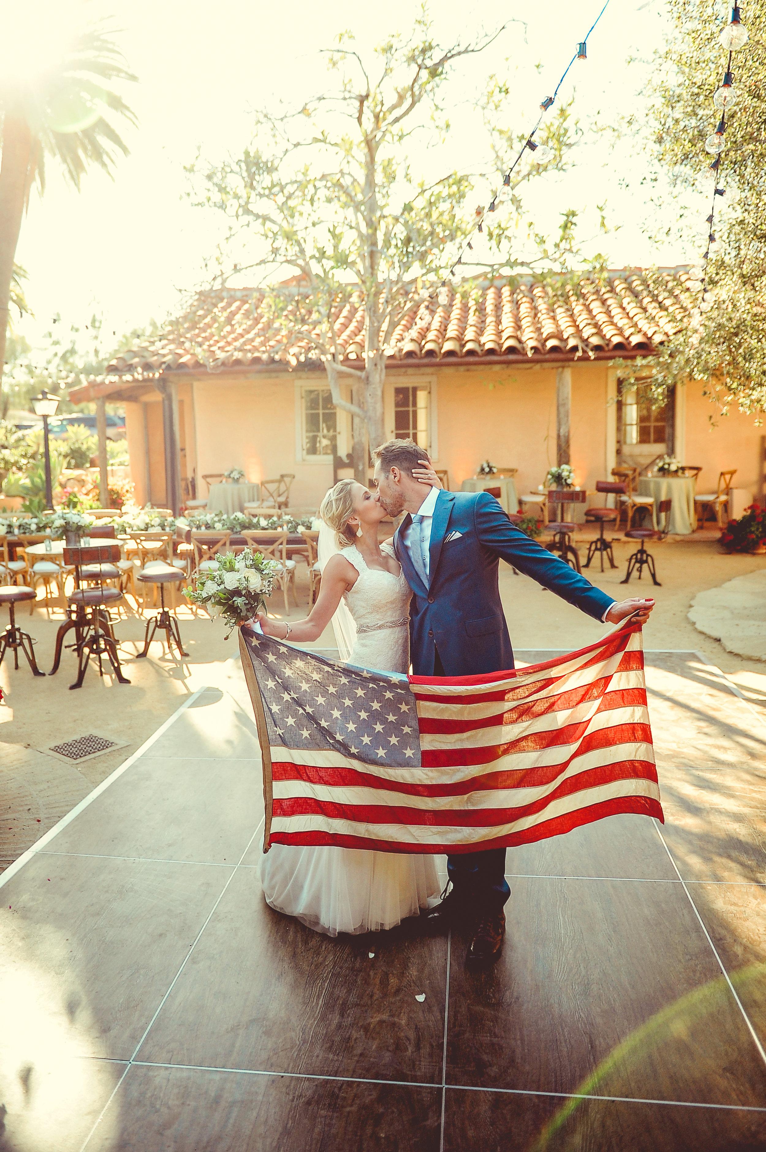 www.santabarbarawedding.com   JKoe Photography   La Fete Weddings   Santa Barbara Historical Museum   Bride and Groom