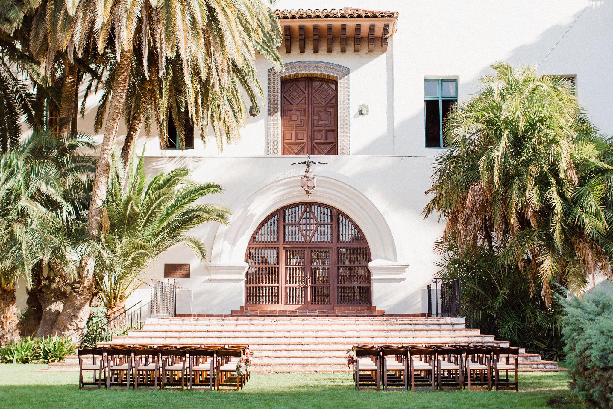 www.santabarbarawedding.com | Grace Kathryn Photography | Santa Barbara Courthouse | Canary Hotel | Amazing Days Events | Ceremony