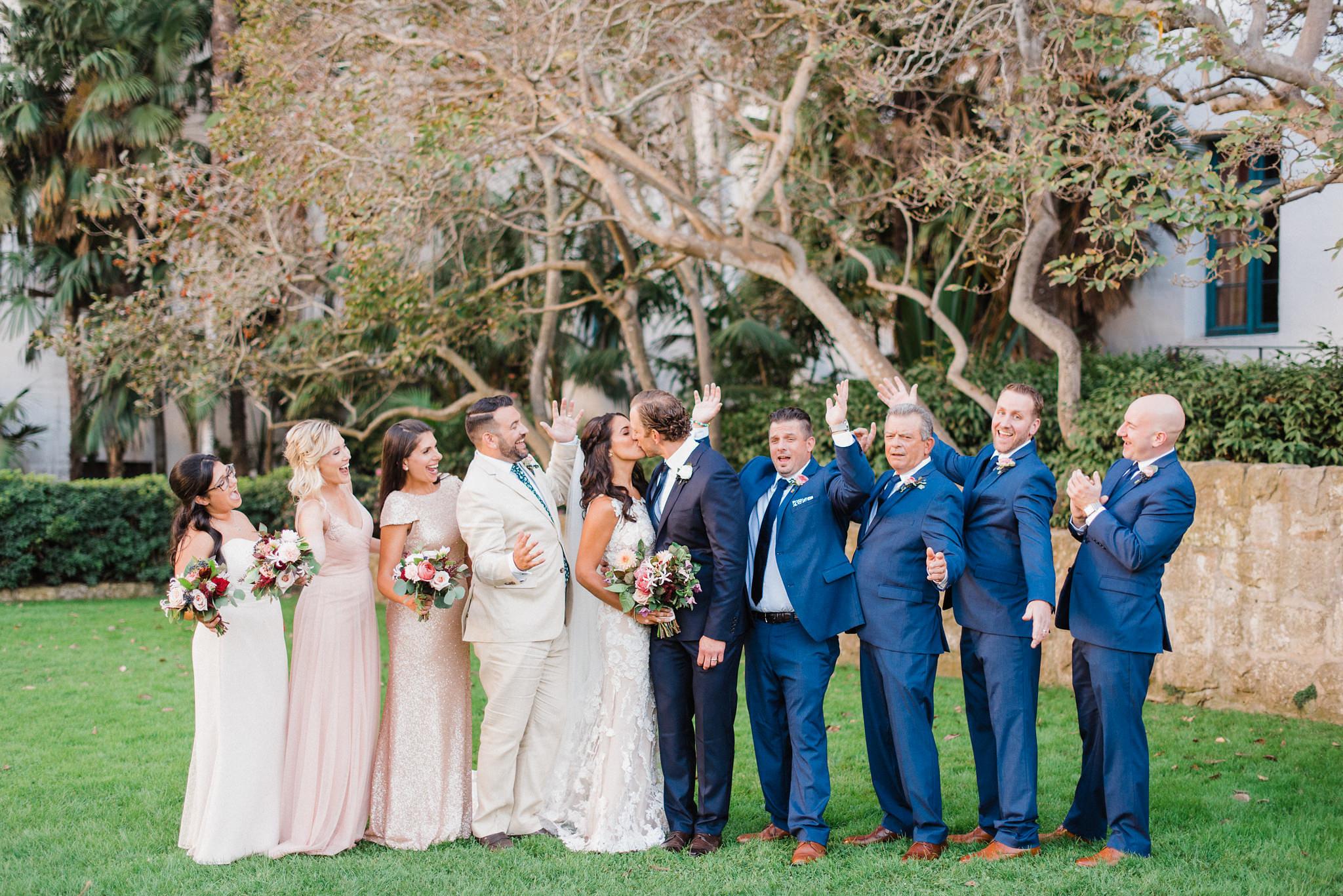 www.santabarbarawedding.com | Grace Kathryn Photography | Santa Barbara Courthouse | Canary Hotel | Amazing Days Events | Bridal Party