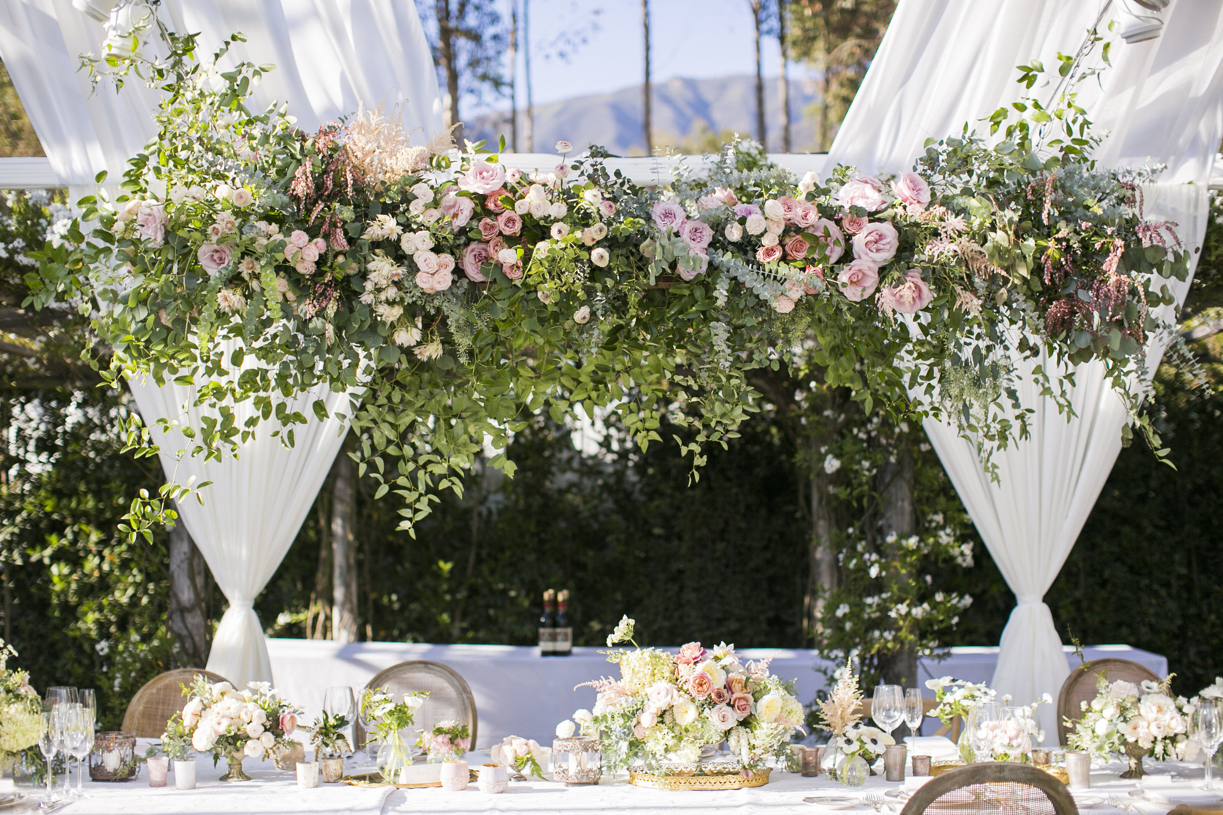 www.santabarbarawedding.com | Event of the Season | San Ysidro Ranch | Birds of a Feather | Reception Details