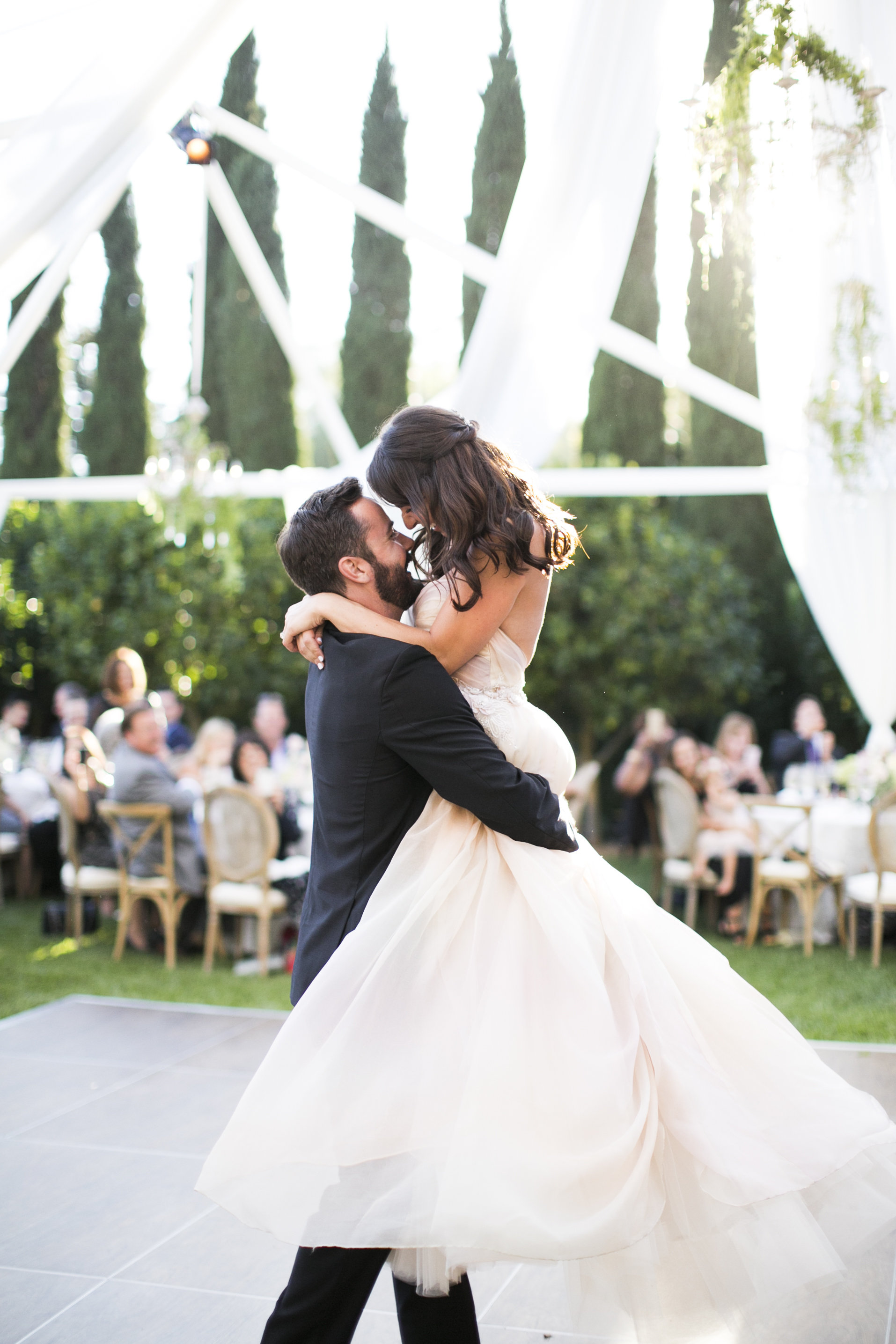 www.santabarbarawedding.com | Event of the Season | San Ysidro Ranch | Birds of a Feather | First Dance