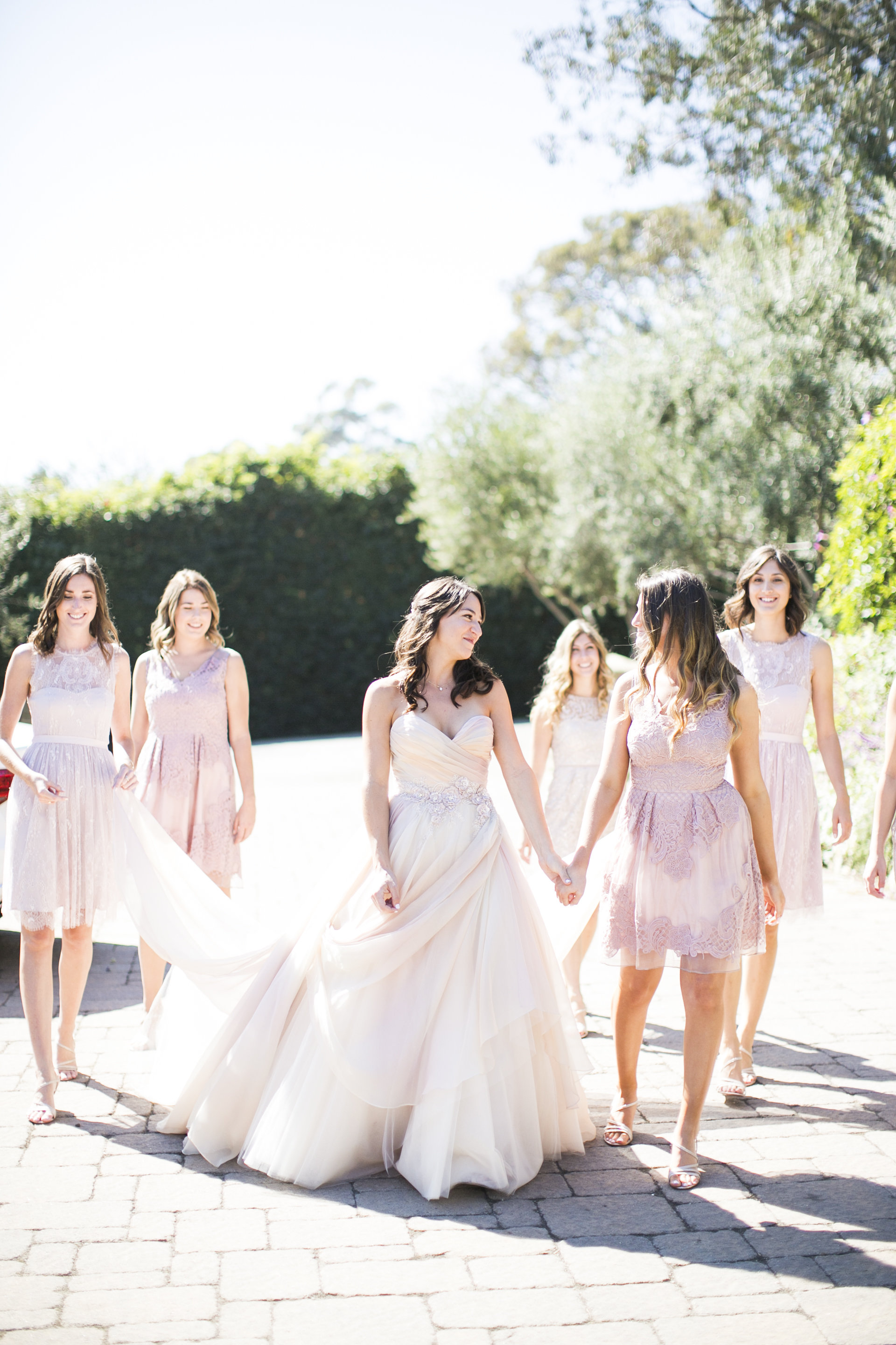 www.santabarbarawedding.com | Event of the Season | San Ysidro Ranch | Birds of a Feather | Bridesmaids